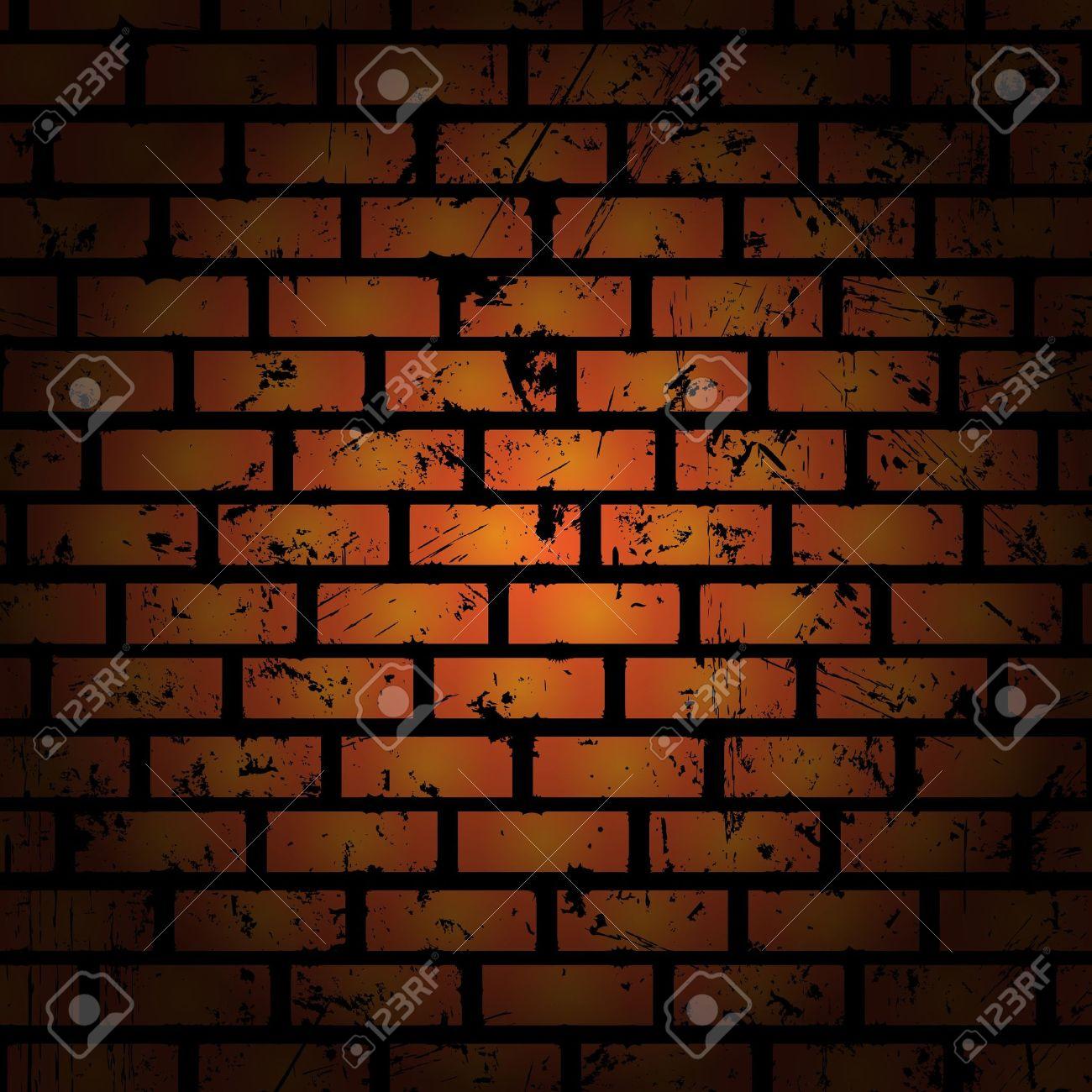 Brick Wall Art abstract background. brick wall. clip-art royalty free cliparts