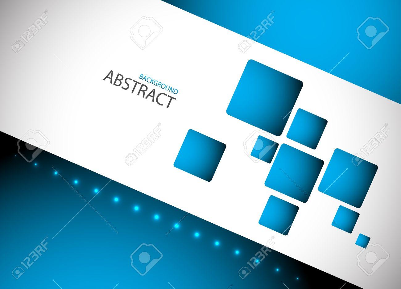 Abstract blue hi-tech background Clip-art - 15688616