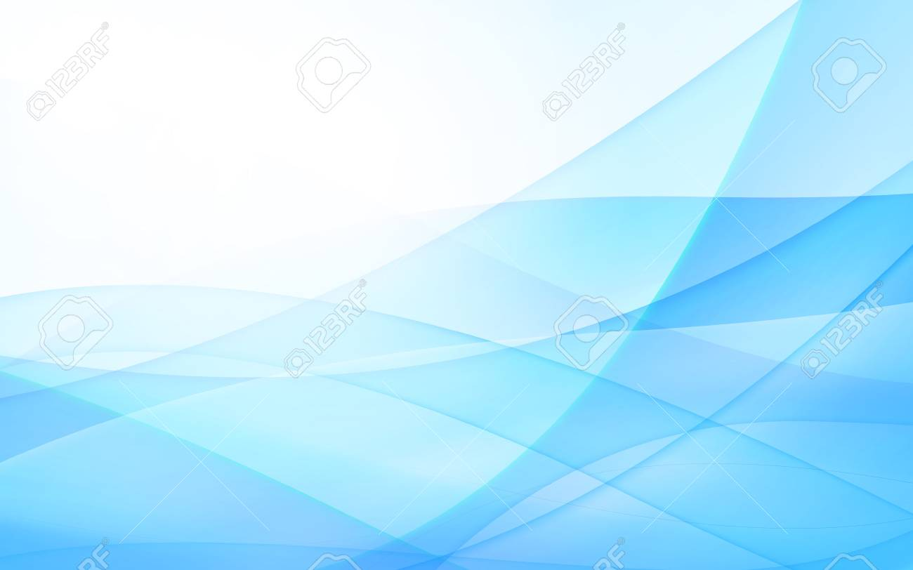 Abstract Blue Background With Line Vector Illustration Clip Art