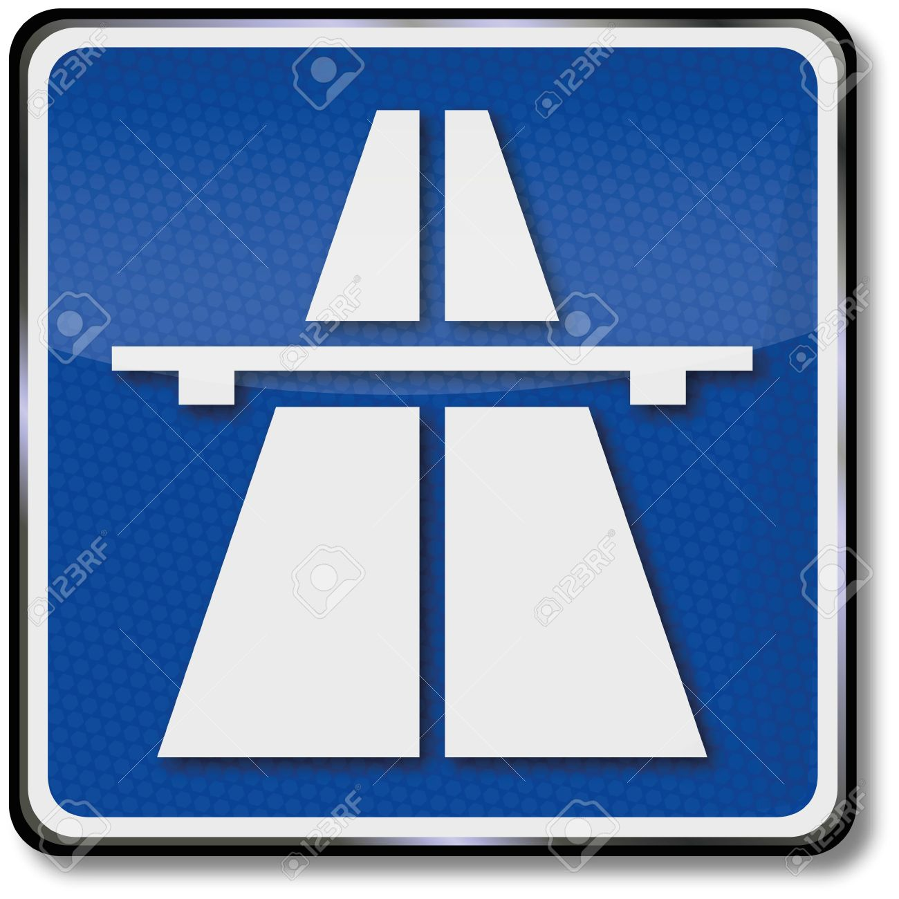 Highway traffic sign Stock Vector - 14487849
