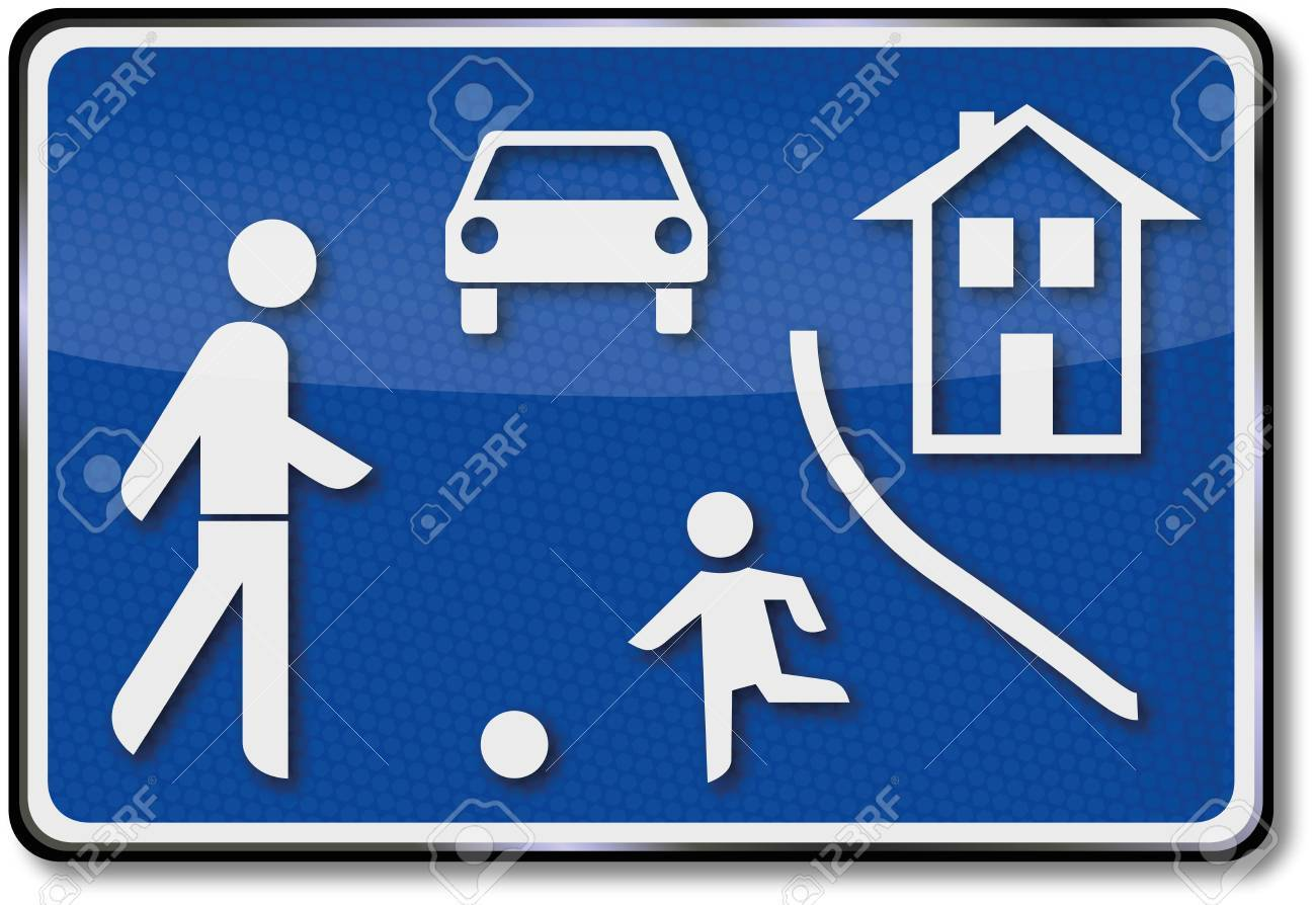 Game road traffic sign Stock Vector - 14777978