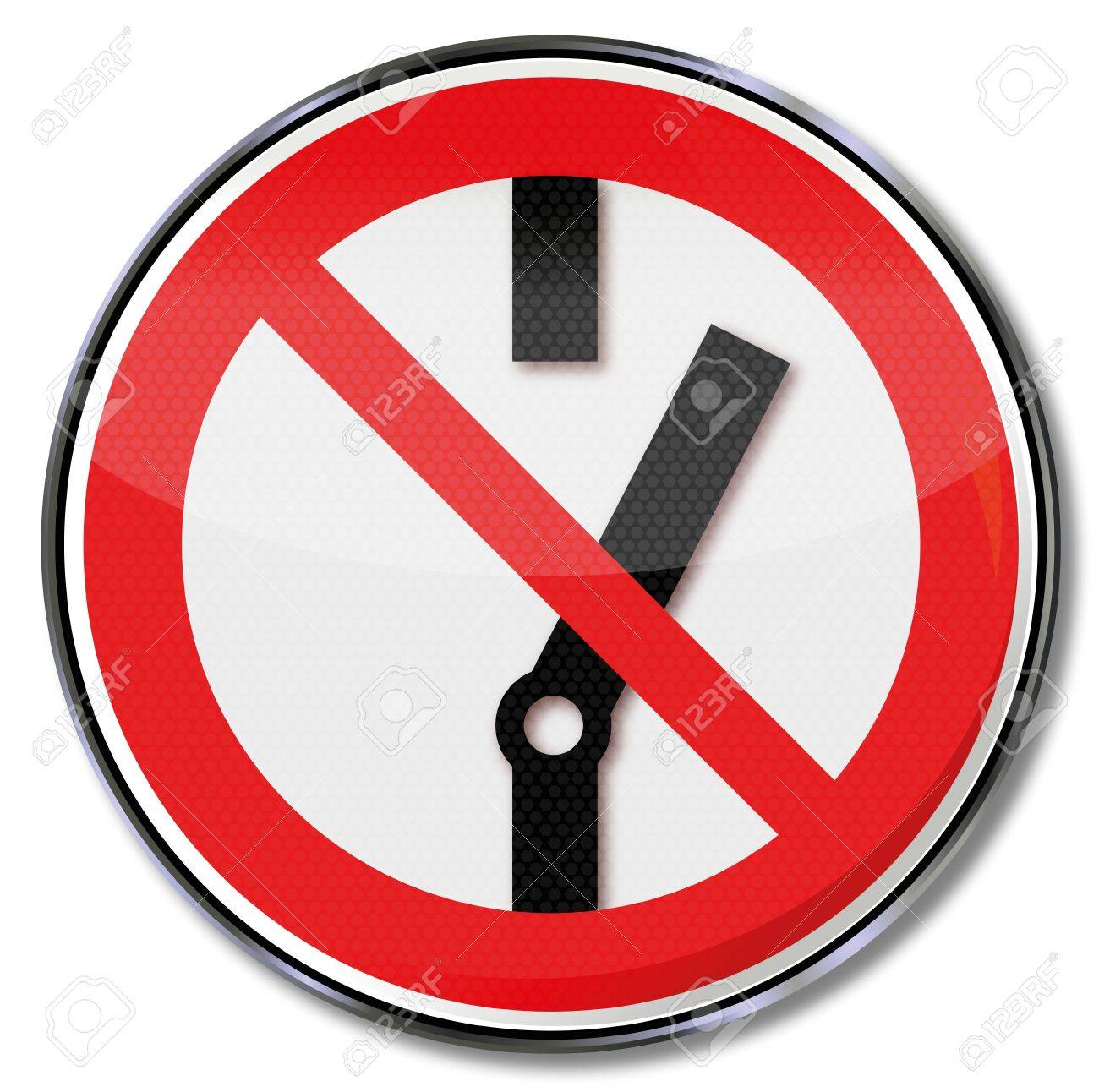 Turn prohibition signs prohibited Stock Vector - 14778001