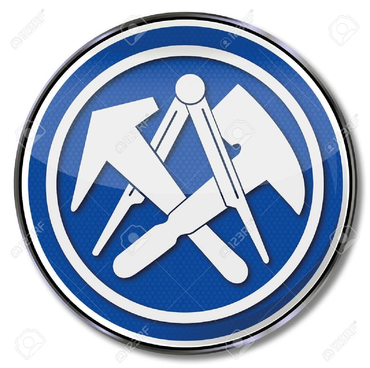 Dachdecker symbol  Dachdecker Lizenzfreie Vektorgrafiken Kaufen: 123RF