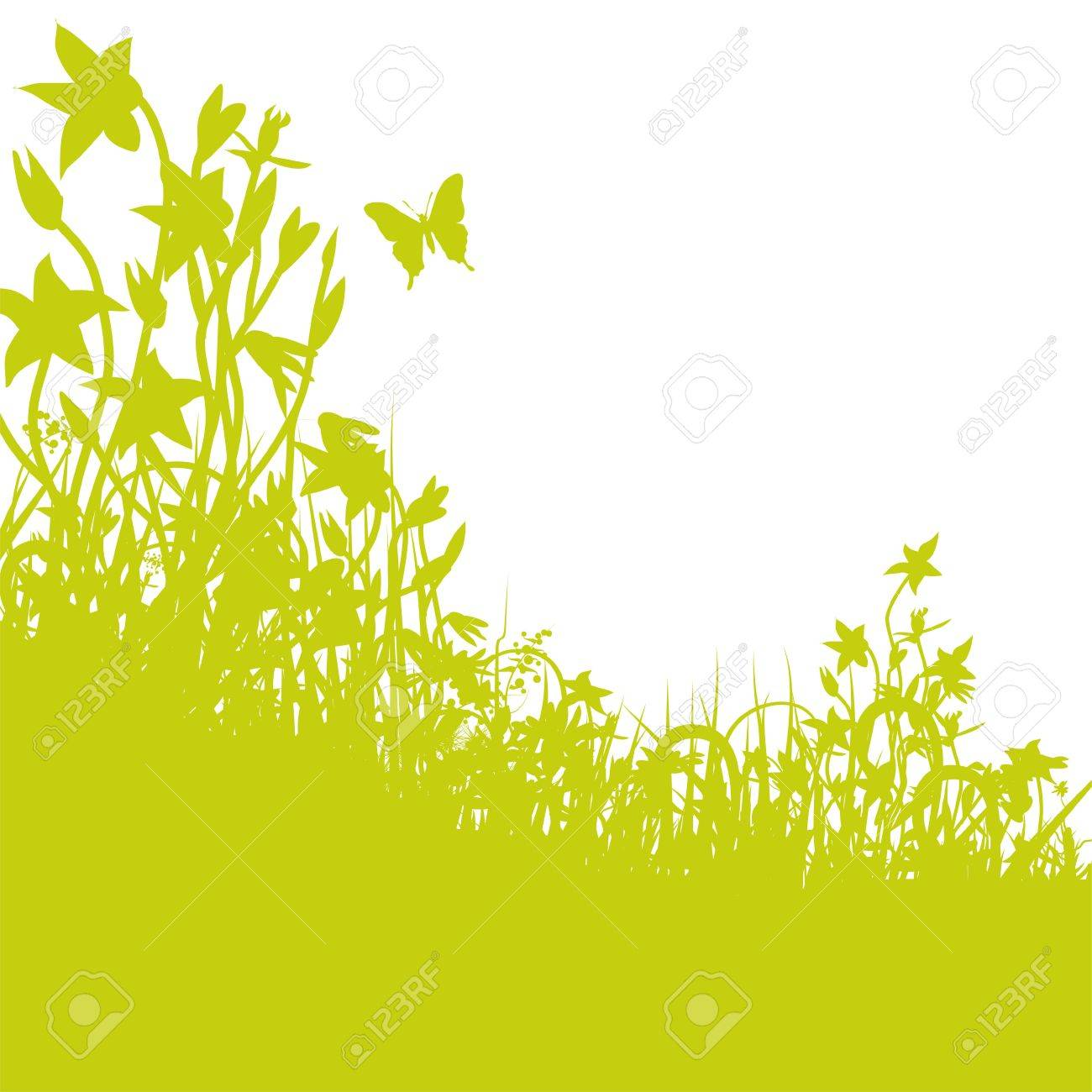 flowers meadow Stock Vector - 14981951