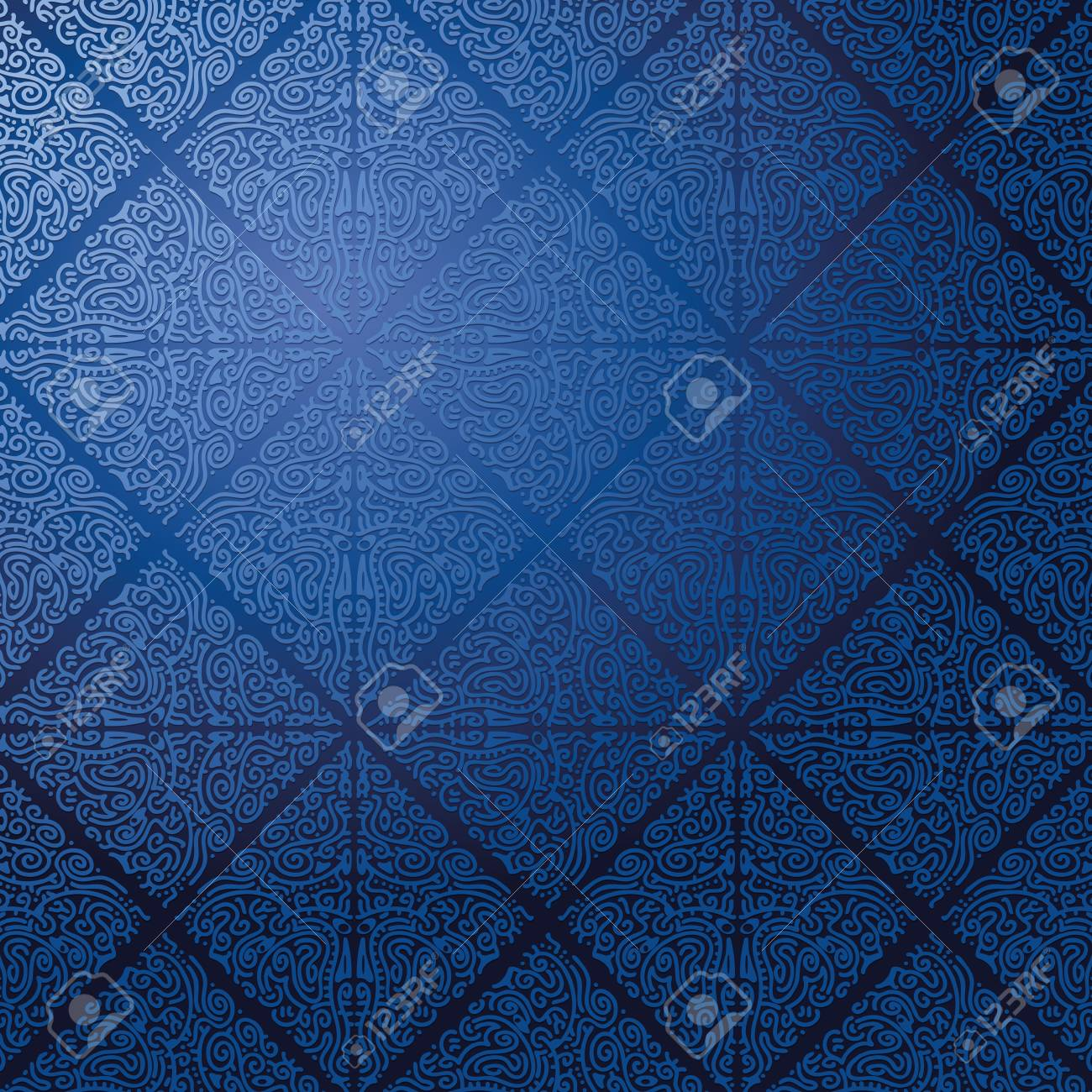 Wallpaper in blue Stock Photo - 14981906
