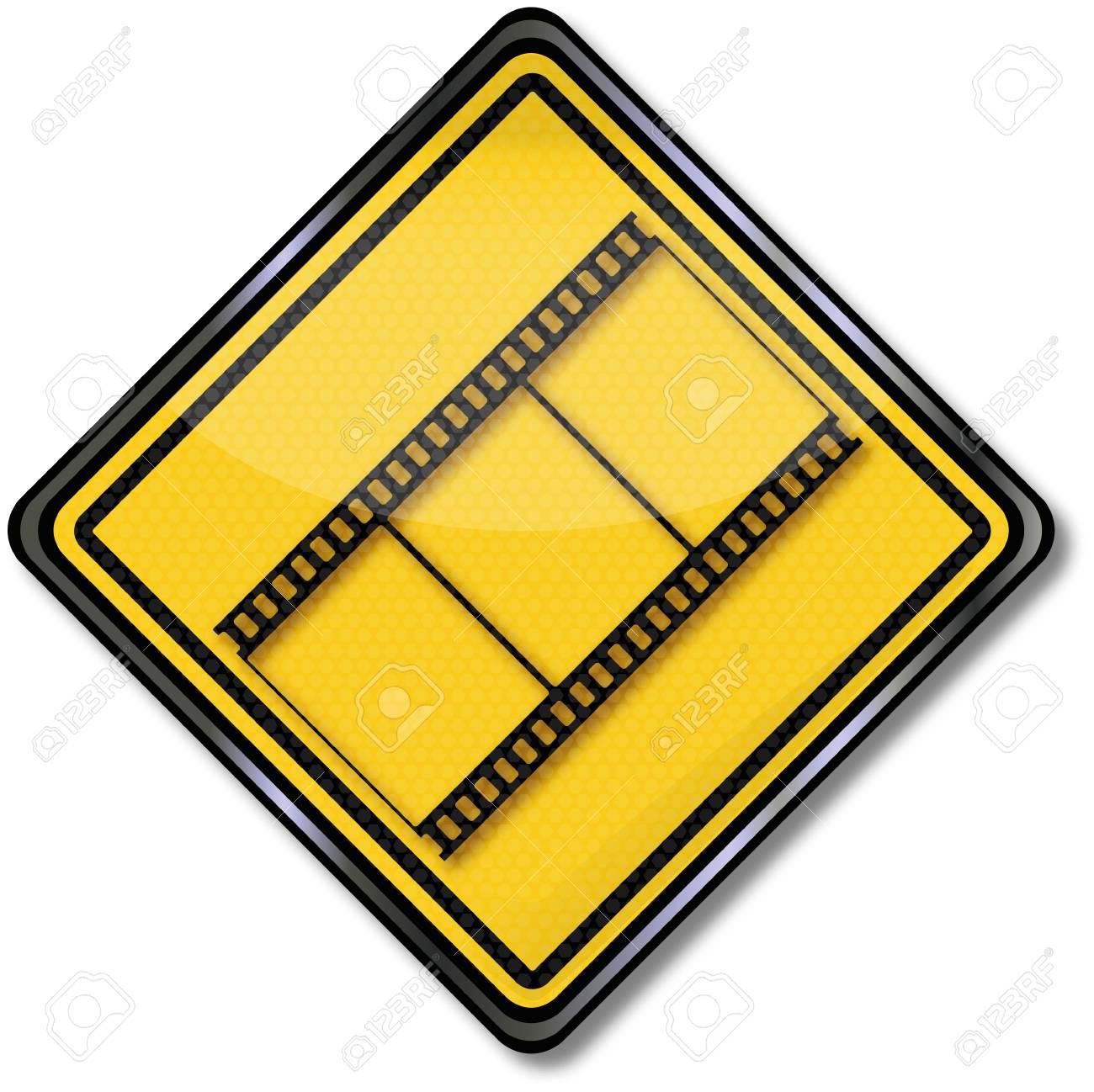 Shield Film Stock Vector - 14981938