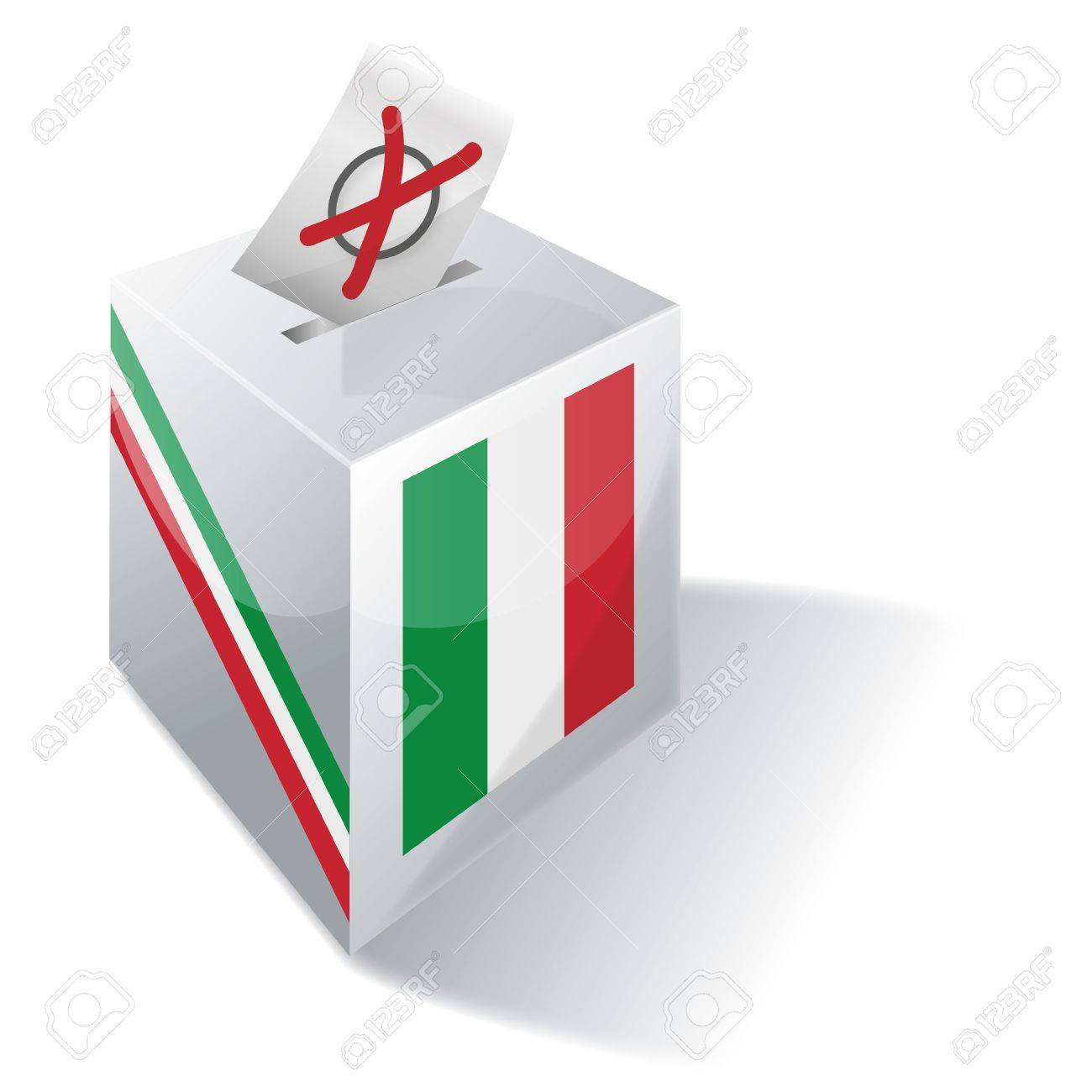 Selection box Italy Stock Vector - 15017582