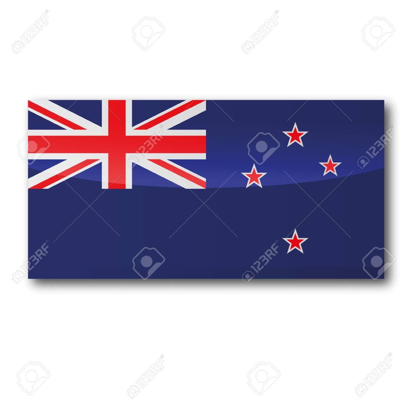 Flag New Zealand Stock Vector - 15993161