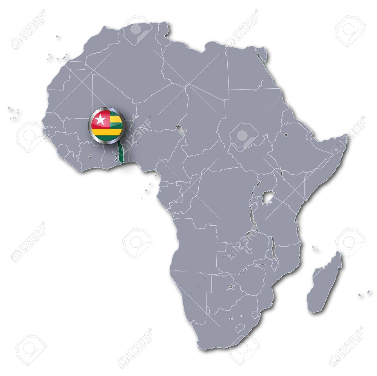 Africa map togo stock photo picture and royalty free image image africa map togo stock photo 15993237 gumiabroncs Image collections