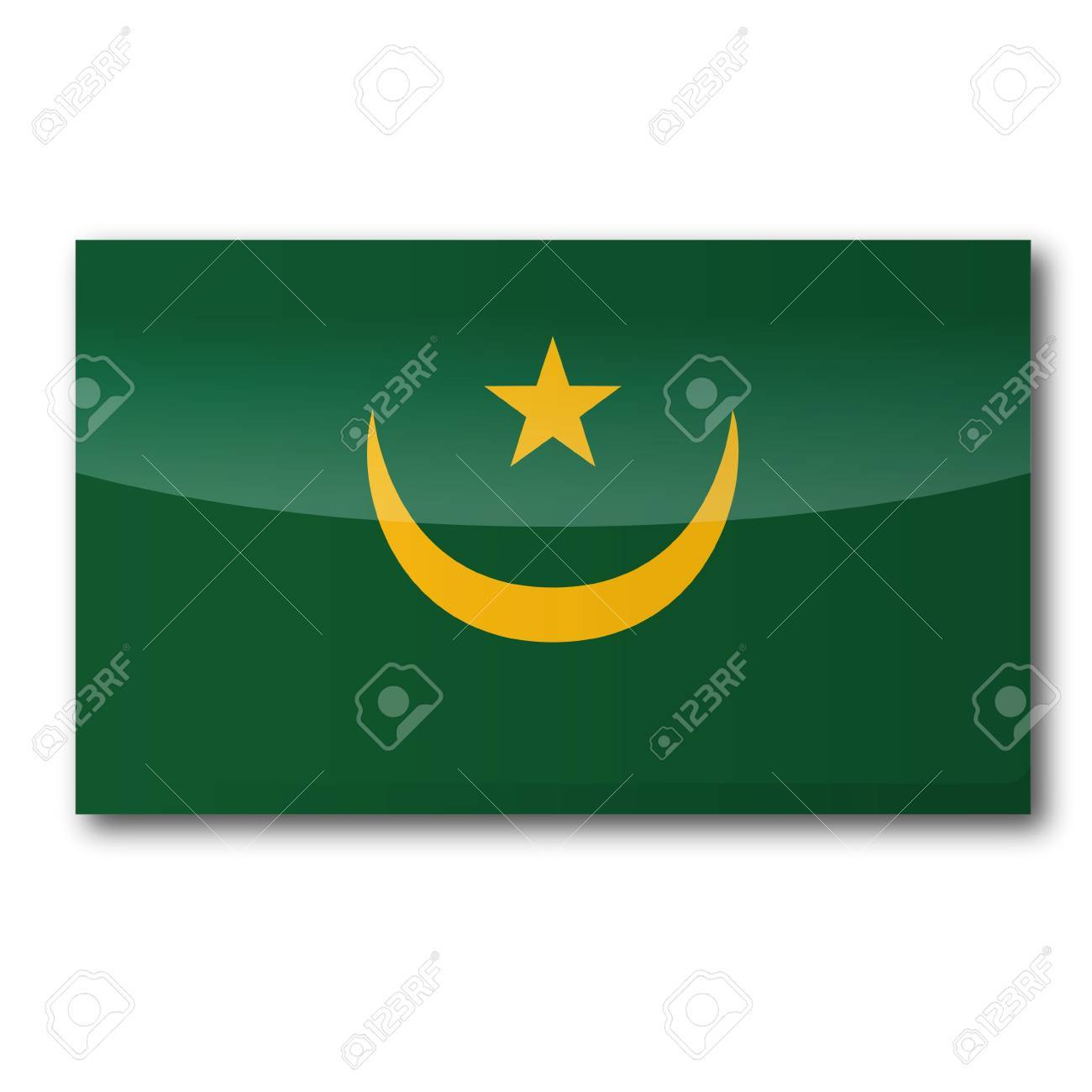 Flag Mauritania Stock Vector - 16331272