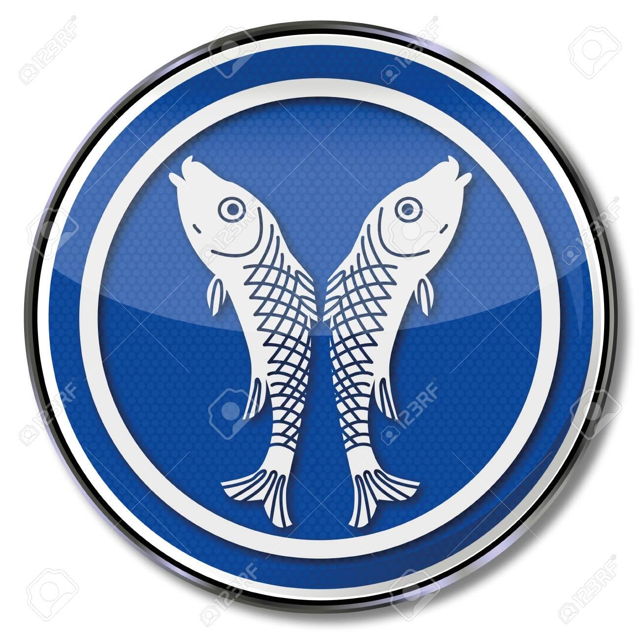 Guild sign fisherman Stock Vector - 16807079
