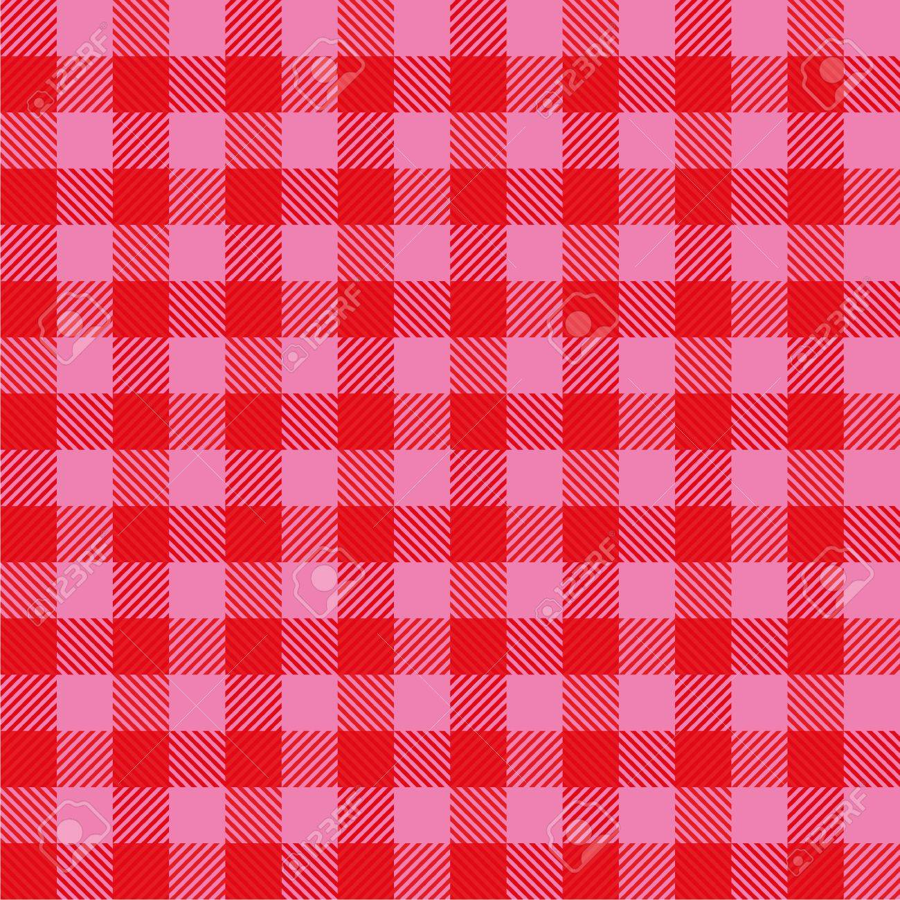 Simple cloth with red and pink Stock Vector - 19902165