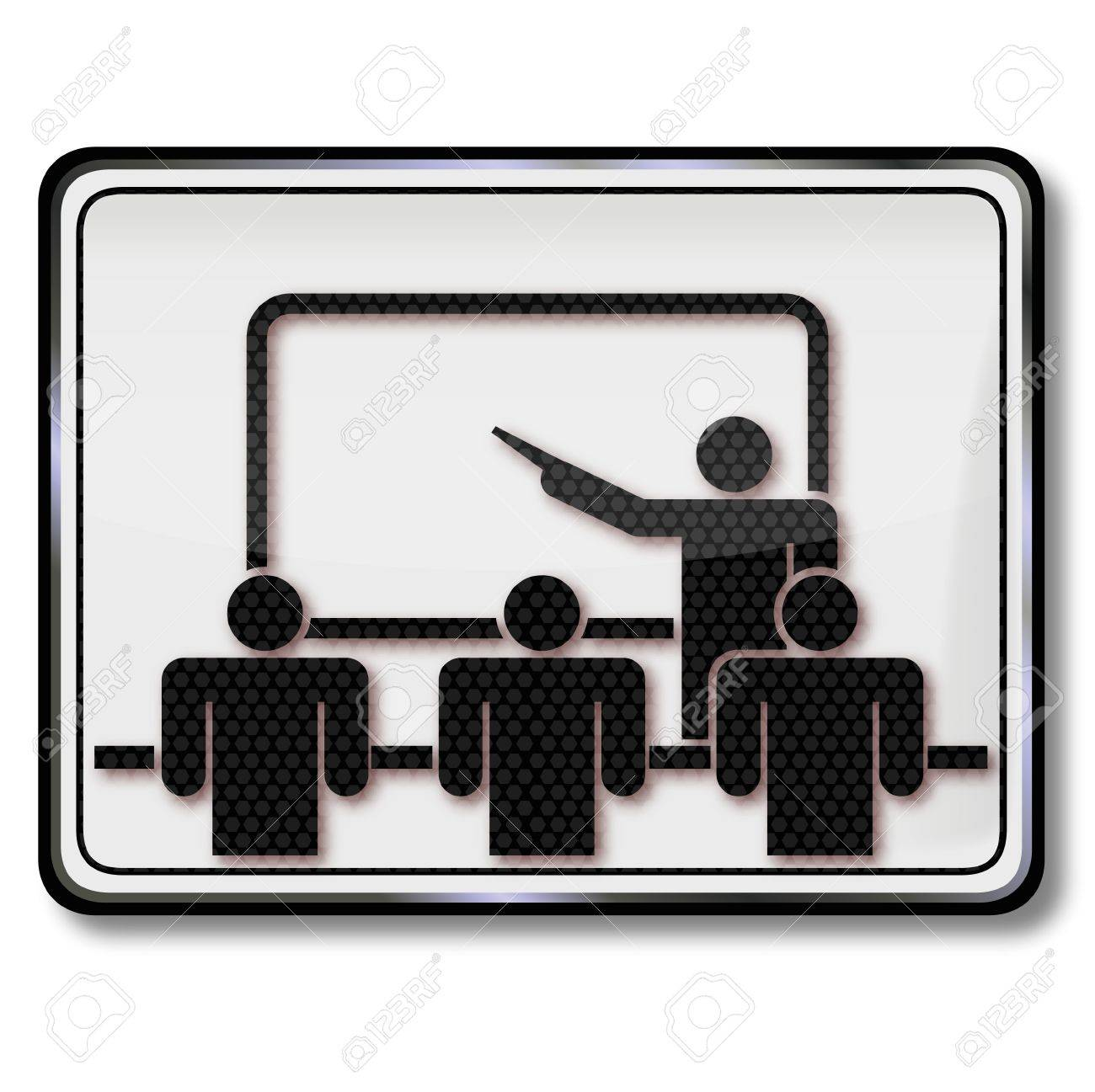 sign conference room and training room royalty free cliparts