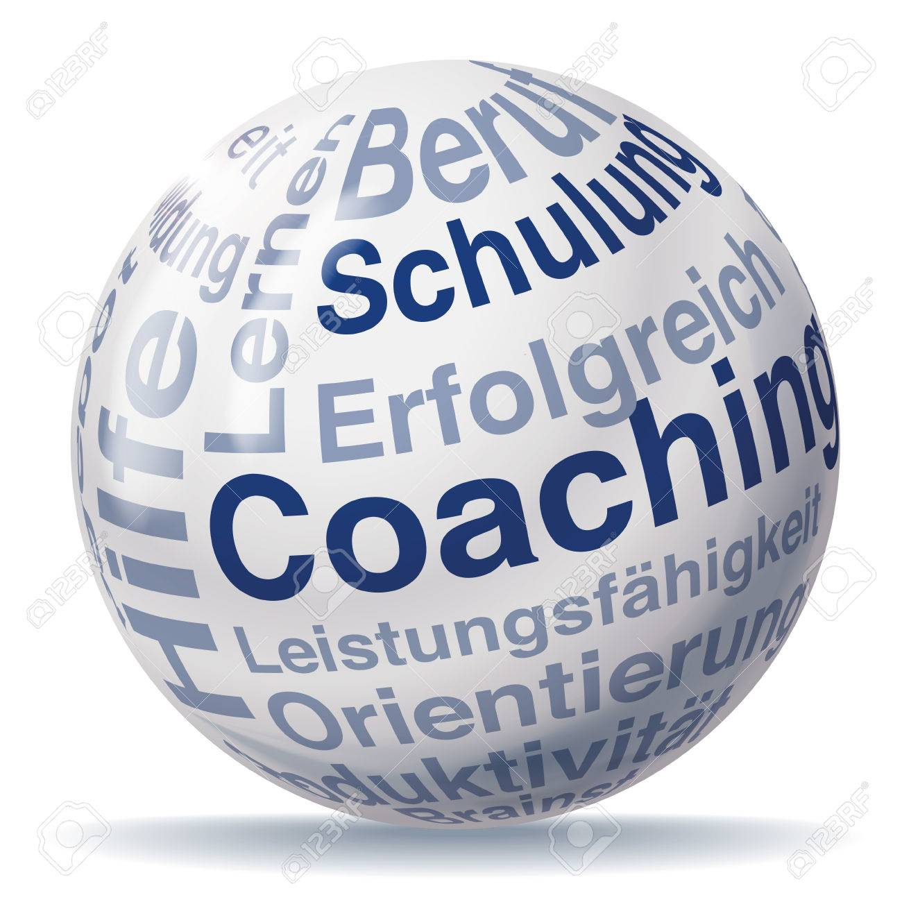 Coaching ball Stock Vector - 22374742