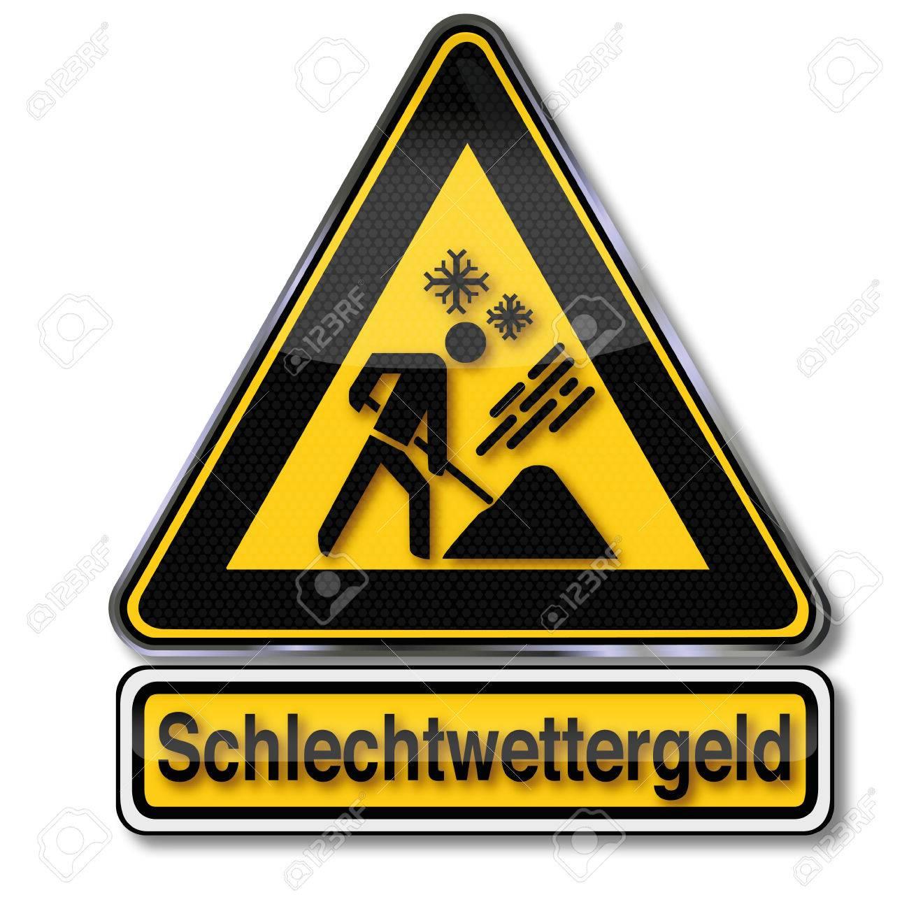 Danger sign bad weather money Stock Vector - 24028463