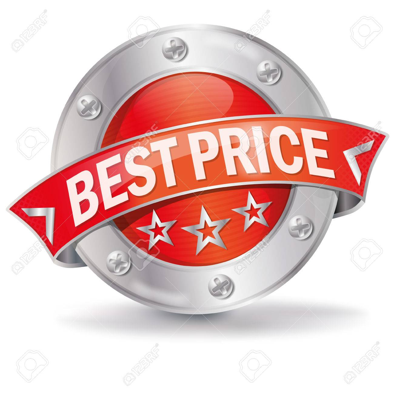 Best price button Stock Vector - 24392196