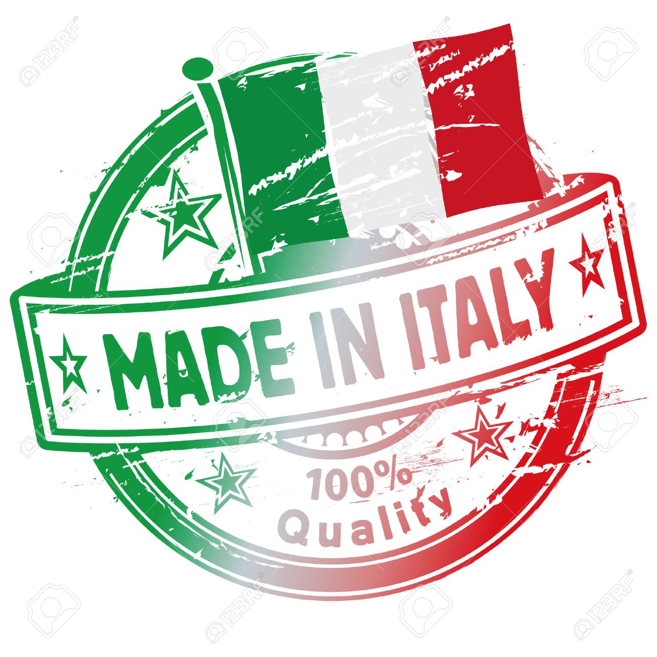 Rubber stamp made in Italy - 31915837