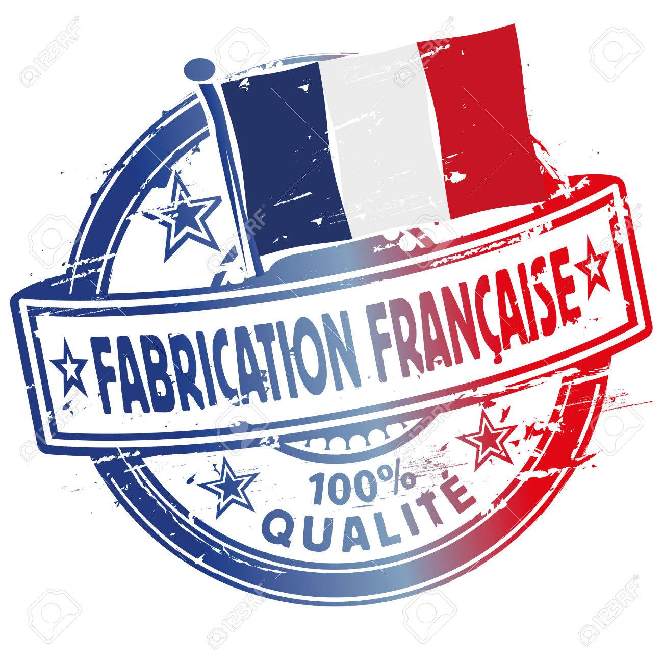 Rubber stamp fabrication francaise - 40086100