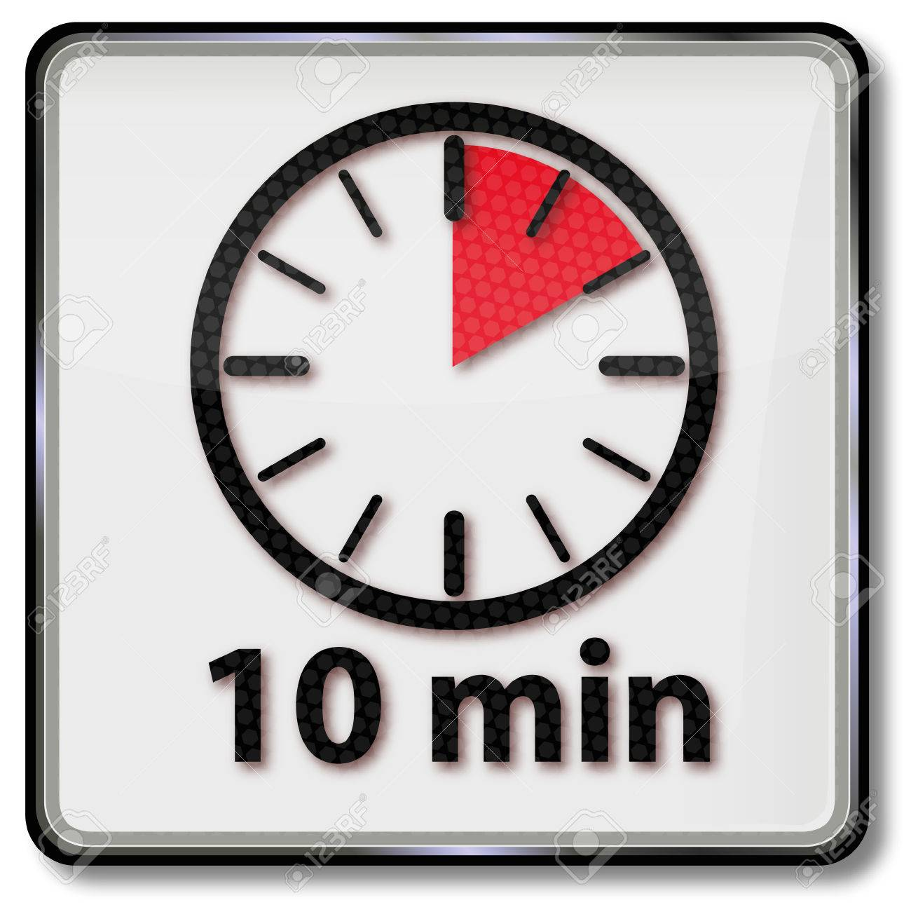 Clock with 10 minutes - 54341480