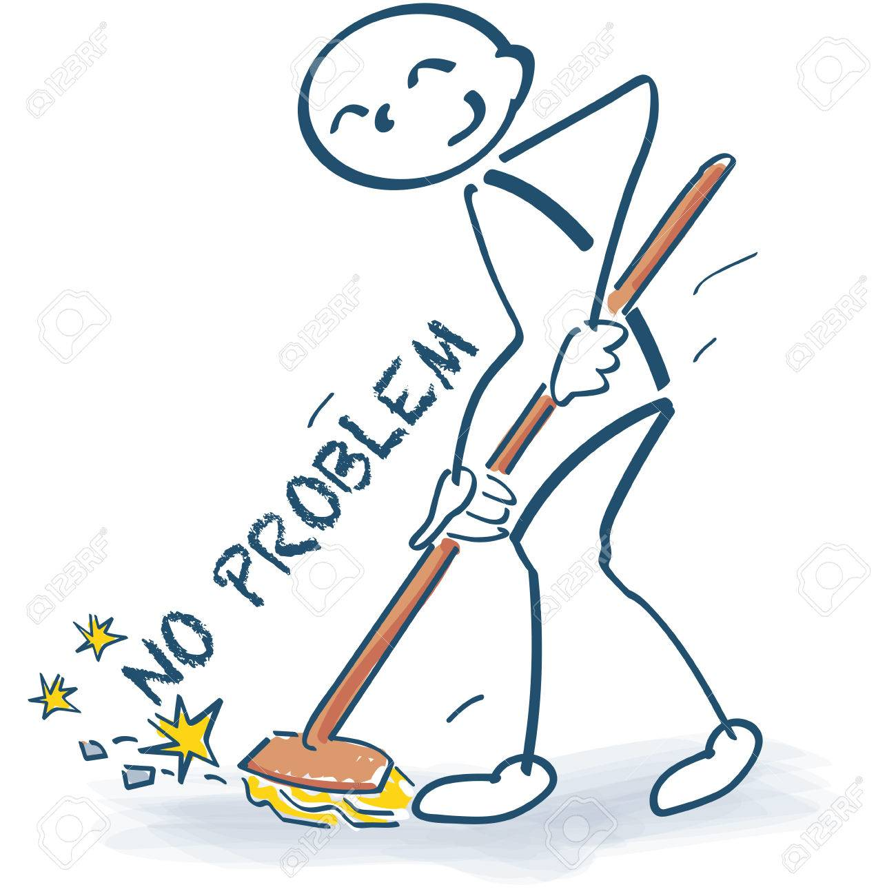 Image result for sweep away with a broom clipart
