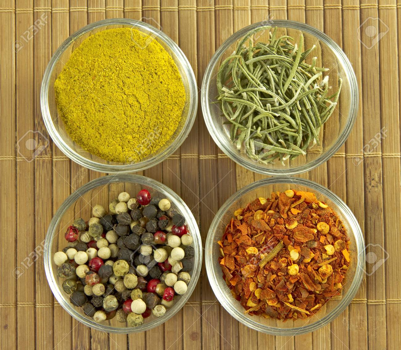 Variety of spices Stock Photo - 12585228
