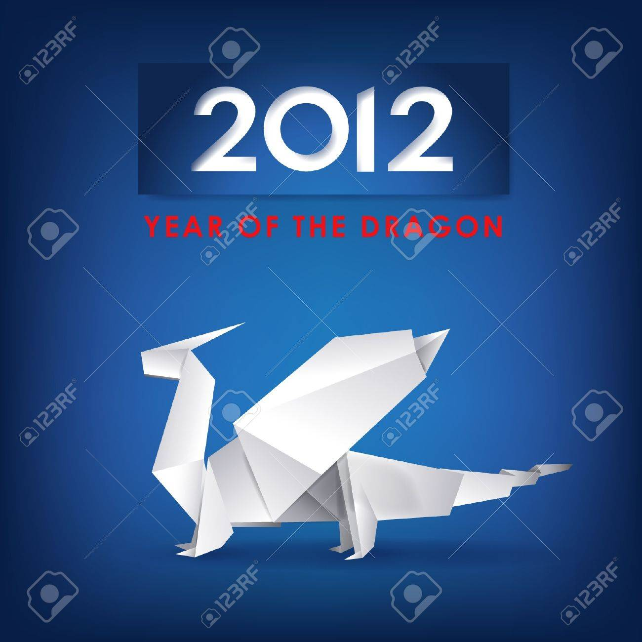New Year greeting card Stock Vector - 10905560