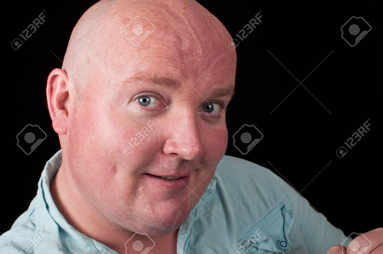 photo close up portrait casual male overweight Stock Photo - 6876103