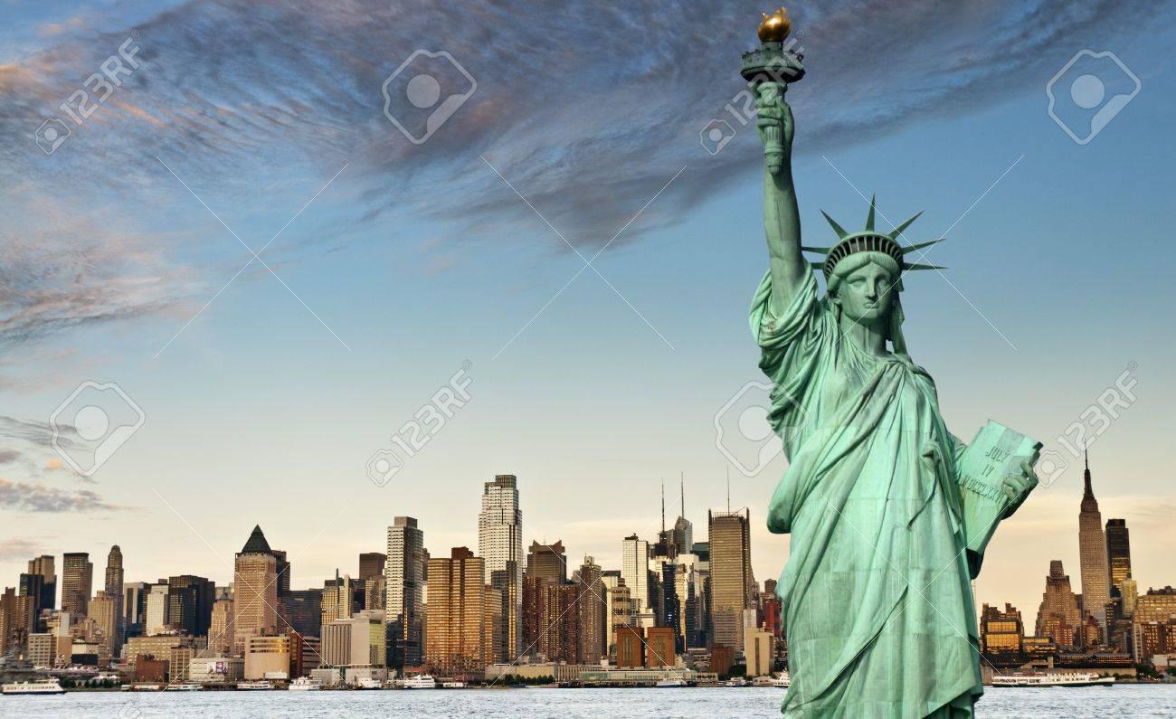 new york city tourism concept - 13368733
