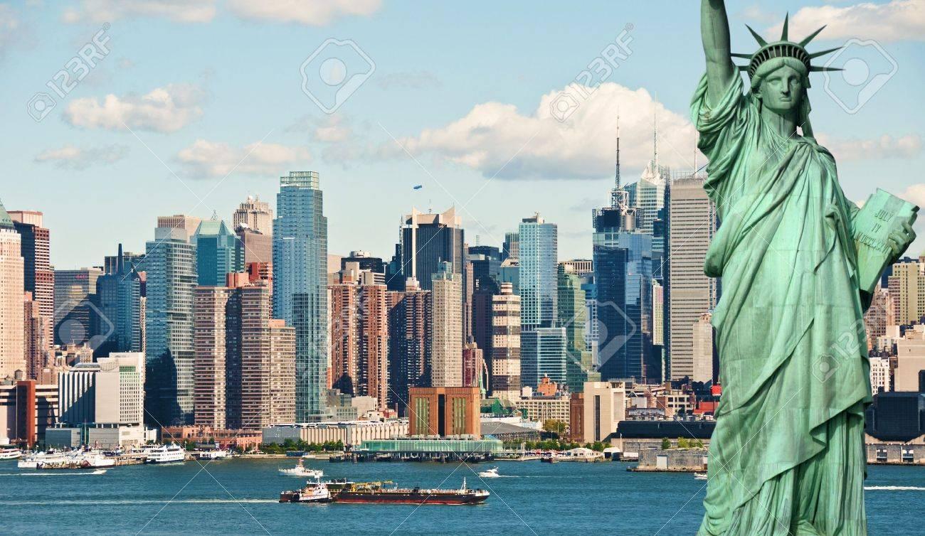 new york city tourism concept - 13368637