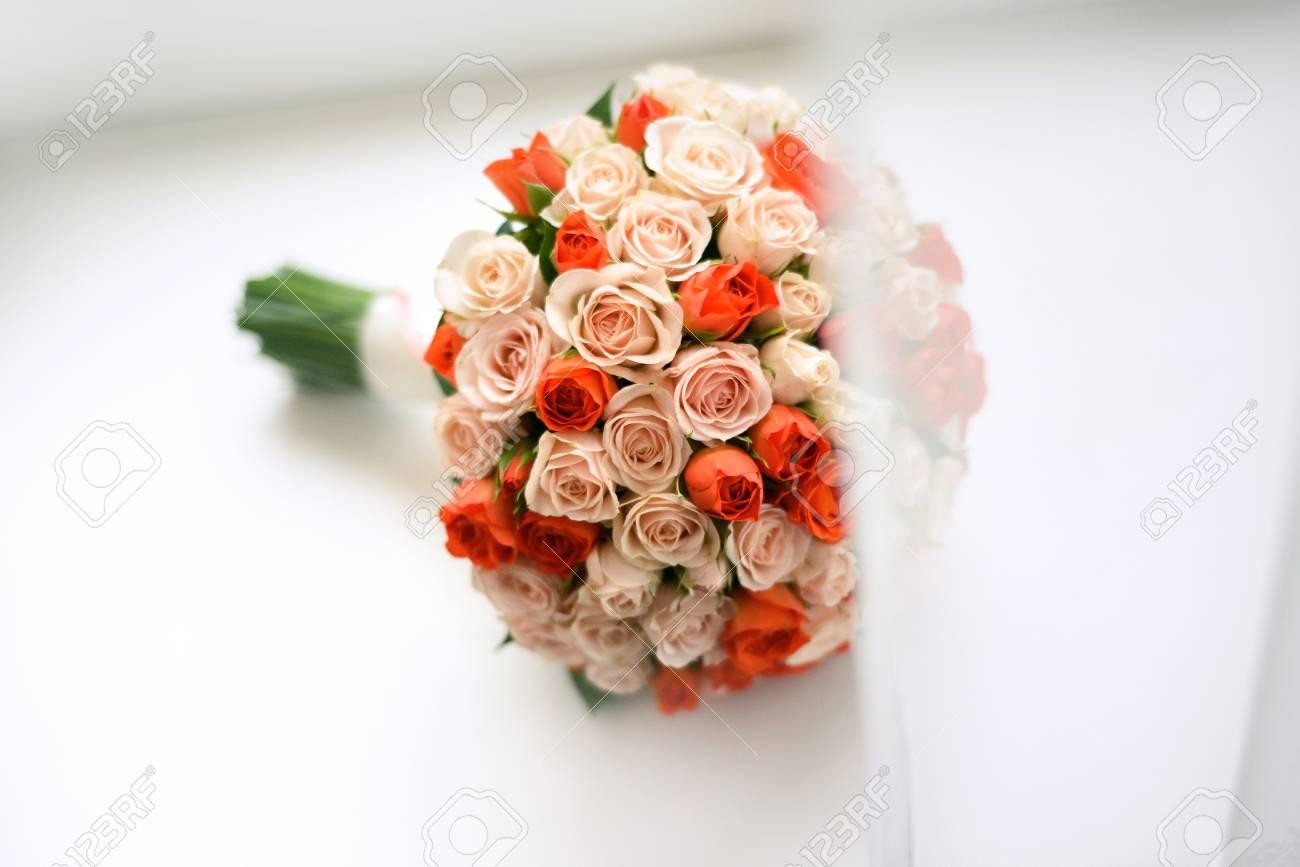 Immagini Di Bouquet Da Sposa.Bouquet Da Sposa Di Rose Grande Bouquet Di Nozze