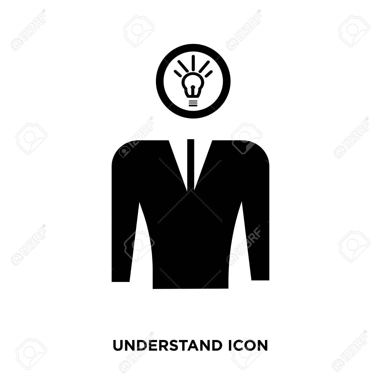 understand icon vector stock photo picture and royalty free image