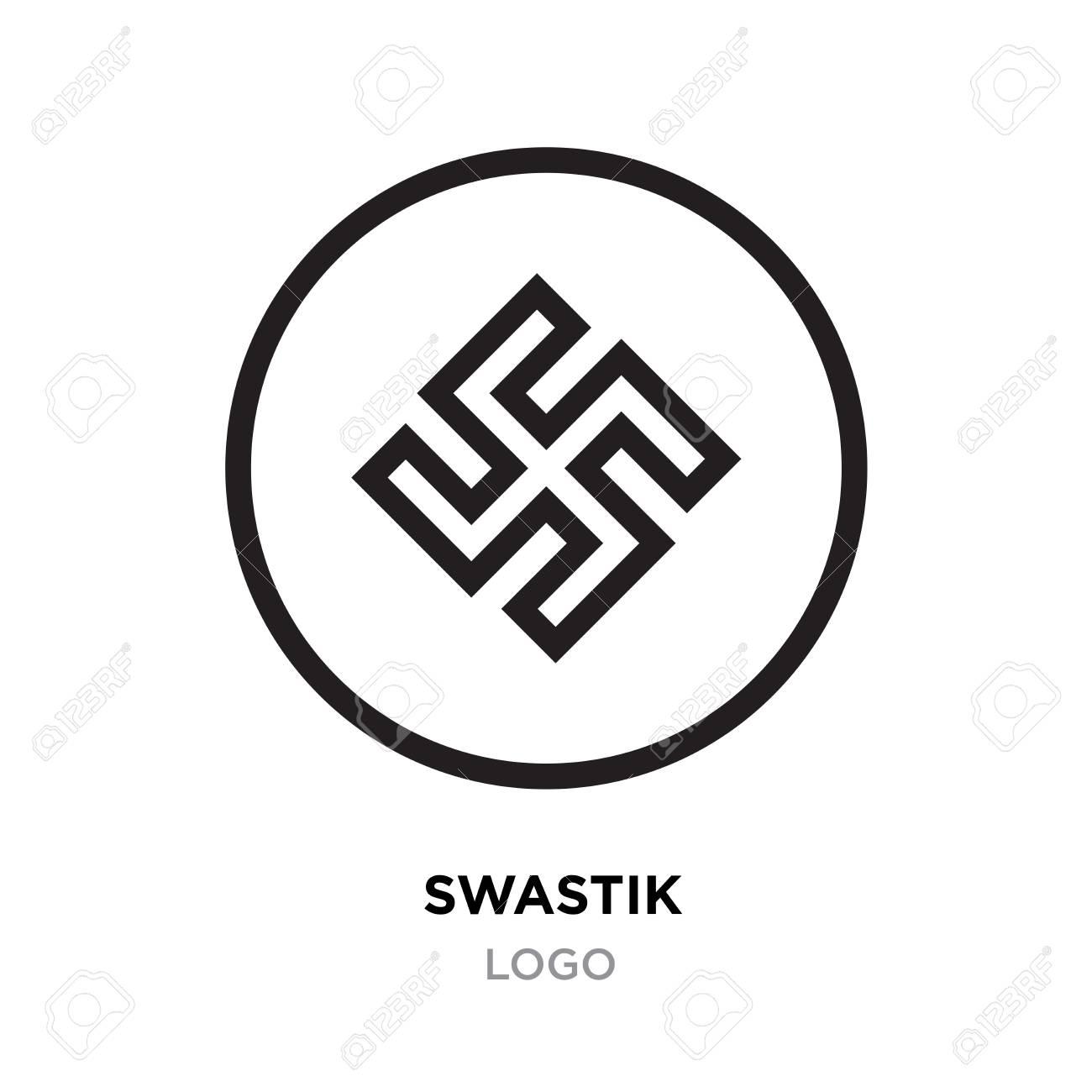 Black swastik logohinduism religion sign indian swastik symbol black swastik logohinduism religion sign indian swastik symbol isolated on white background stock buycottarizona Image collections