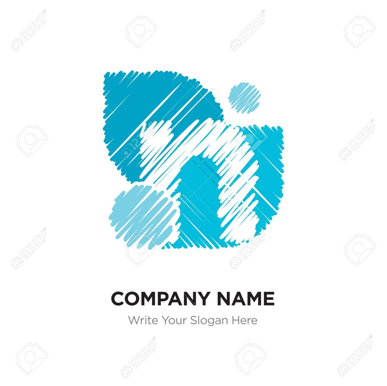 Letter N Logo With Vintage Grunge Cut Design Destroyed Drawing Elegant Icon Vector