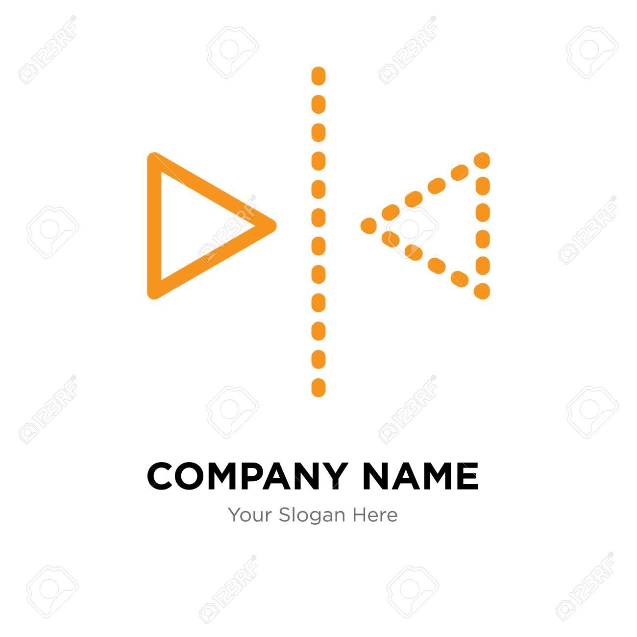 Reflection company logo design template, Reflection logotype vector icon, business corporative - 106295614