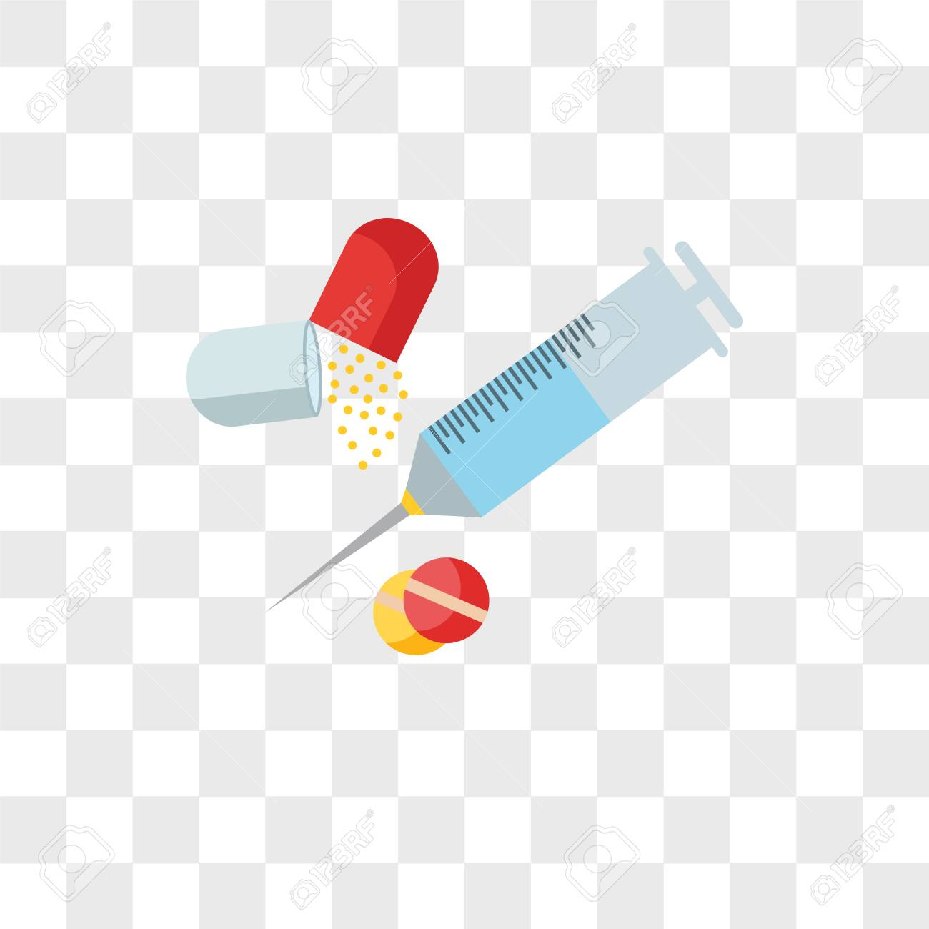 View Transparent Drugs Vector