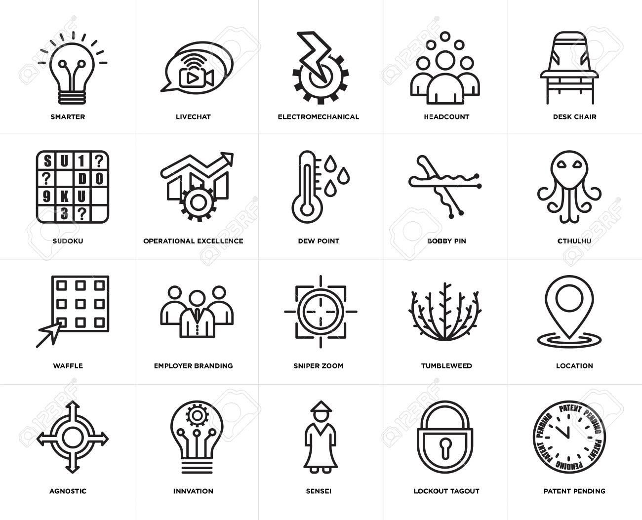 Set Of 20 Simple Editable Icons Such As Patent Pending Cthulhu Royalty Free Cliparts Vectors And Stock Illustration Image 106808792 Find stockbilleder af cthulhu transparent icon cthulhu symbol design i hd og millionvis af andre cthulhu symbol design from fairy tale collection. set of 20 simple editable icons such as patent pending cthulhu