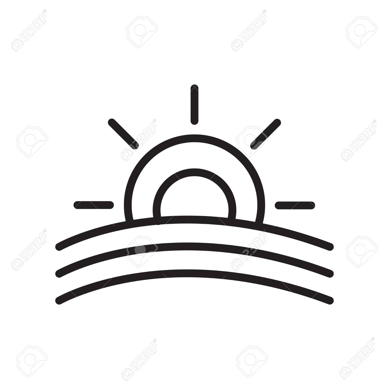 sunset icon vector isolated on white background sunset transparent royalty free cliparts vectors and stock illustration image 106757996 sunset icon vector isolated on white background sunset transparent