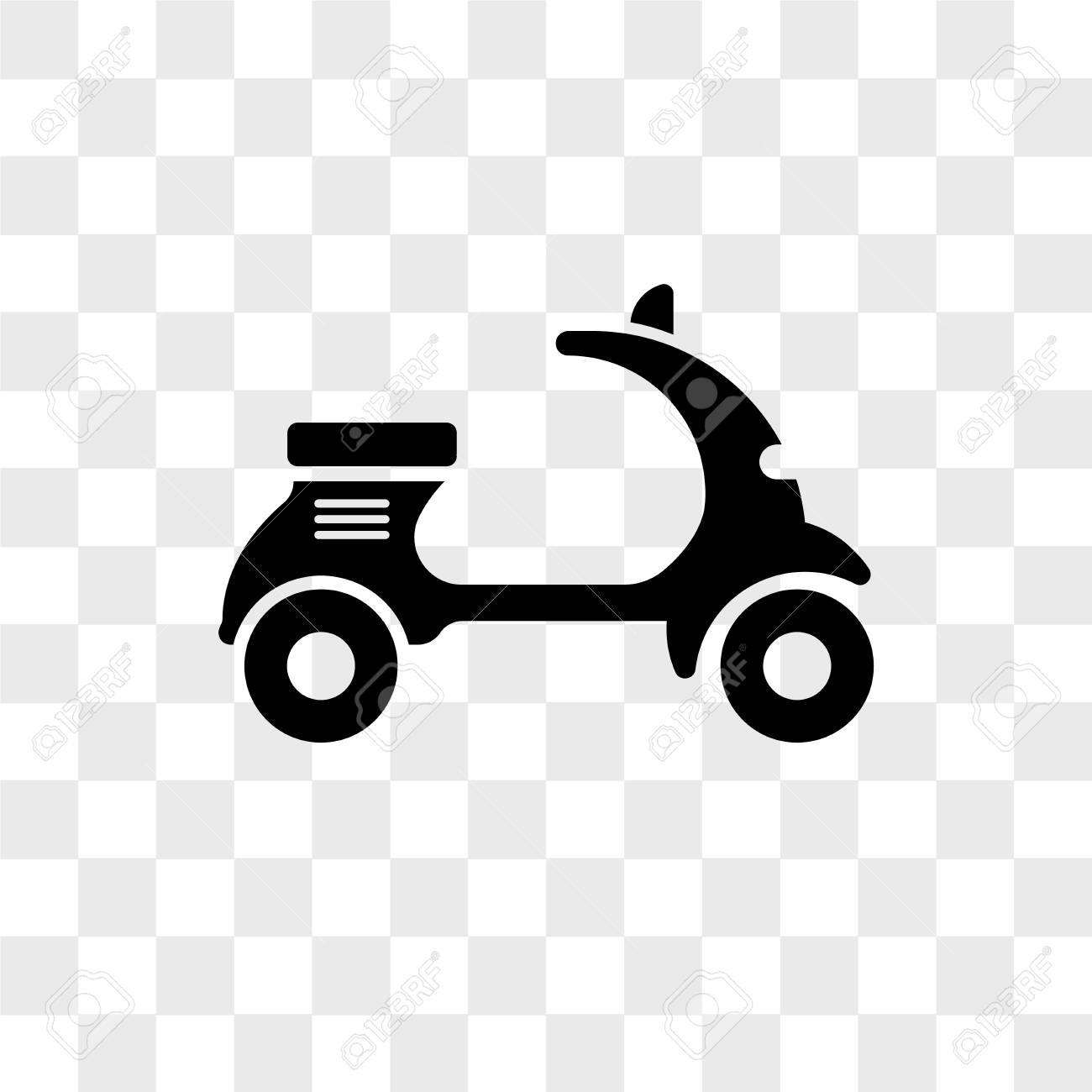 scooter bike vector icon isolated on transparent background royalty free cliparts vectors and stock illustration image 107604622 scooter bike vector icon isolated on transparent background