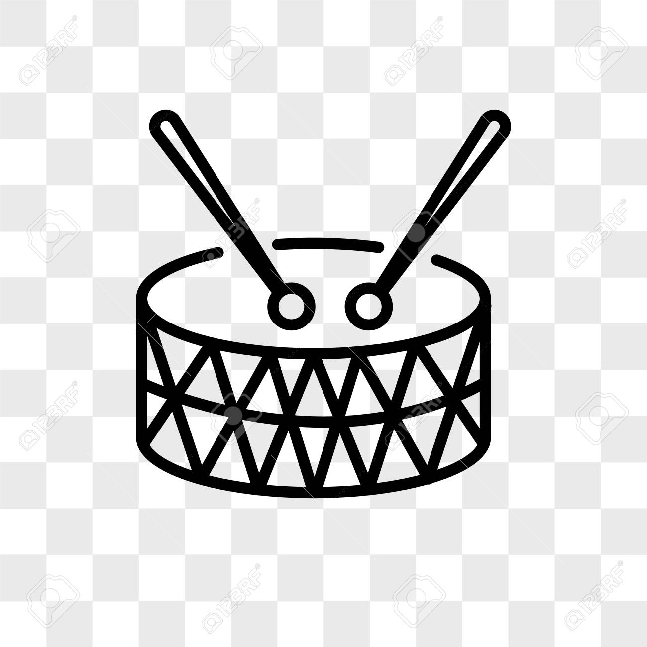 Marching Band Vector Icon Isolated On Transparent Background Royalty Free Cliparts Vectors And Stock Illustration Image 108637392