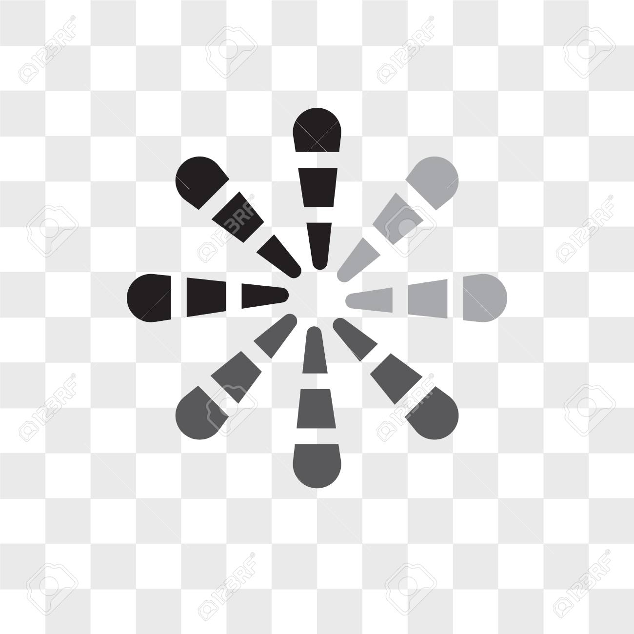 Loading Vector Icon Isolated On Transparent Background Loading Royalty Free Cliparts Vectors And Stock Illustration Image 108881767