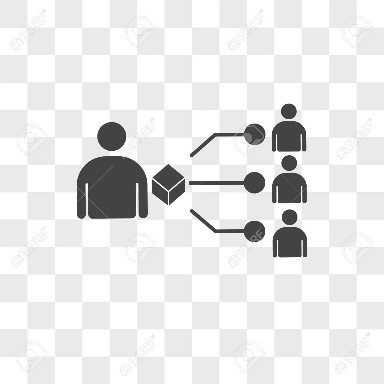 supplier vector icon isolated on transparent background, supplier logo concept - 108881851