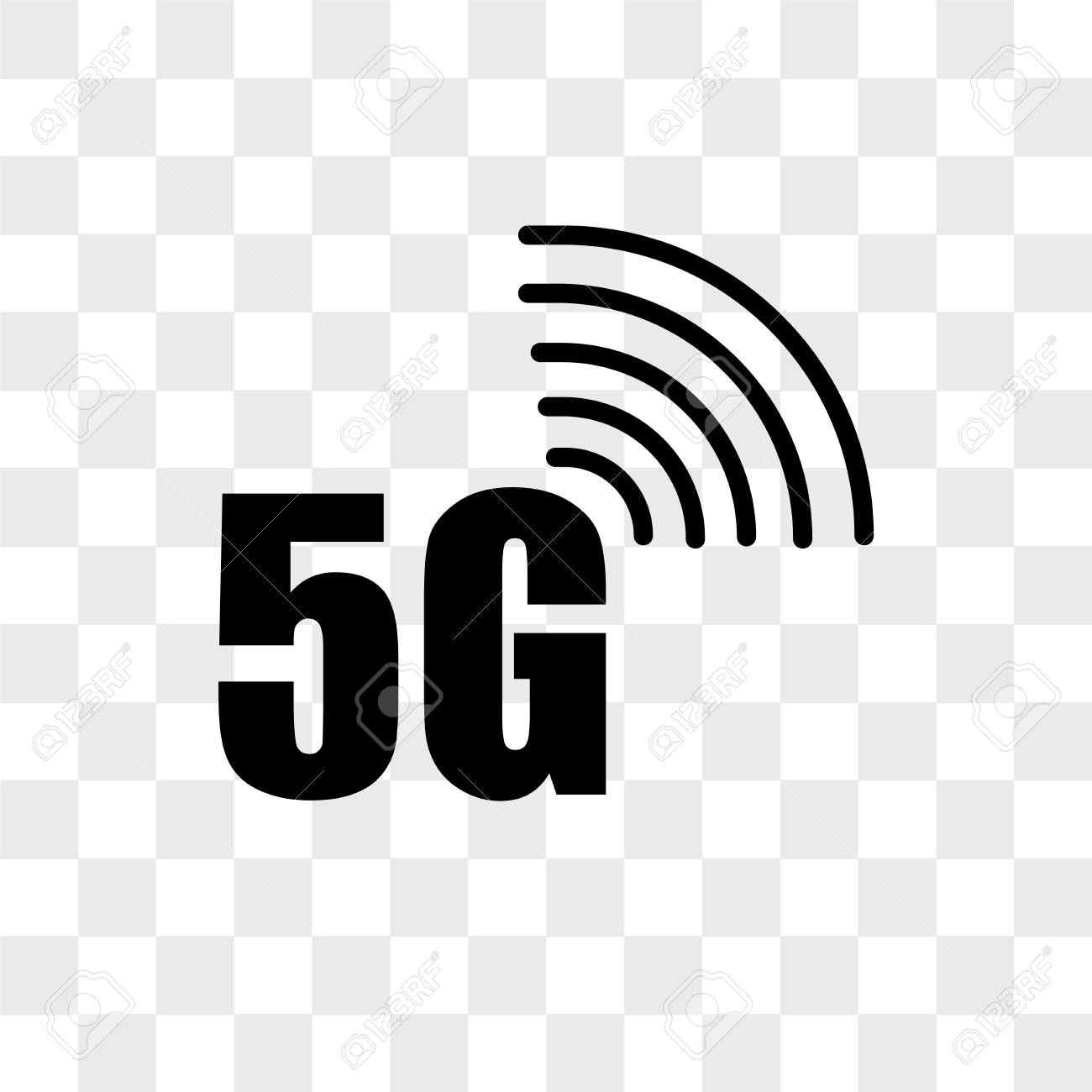 5g Vector Icon Isolated On Transparent Background, 5g Logo Concept Royalty Free Cliparts, Vectors, And Stock Illustration. Image 108989147.