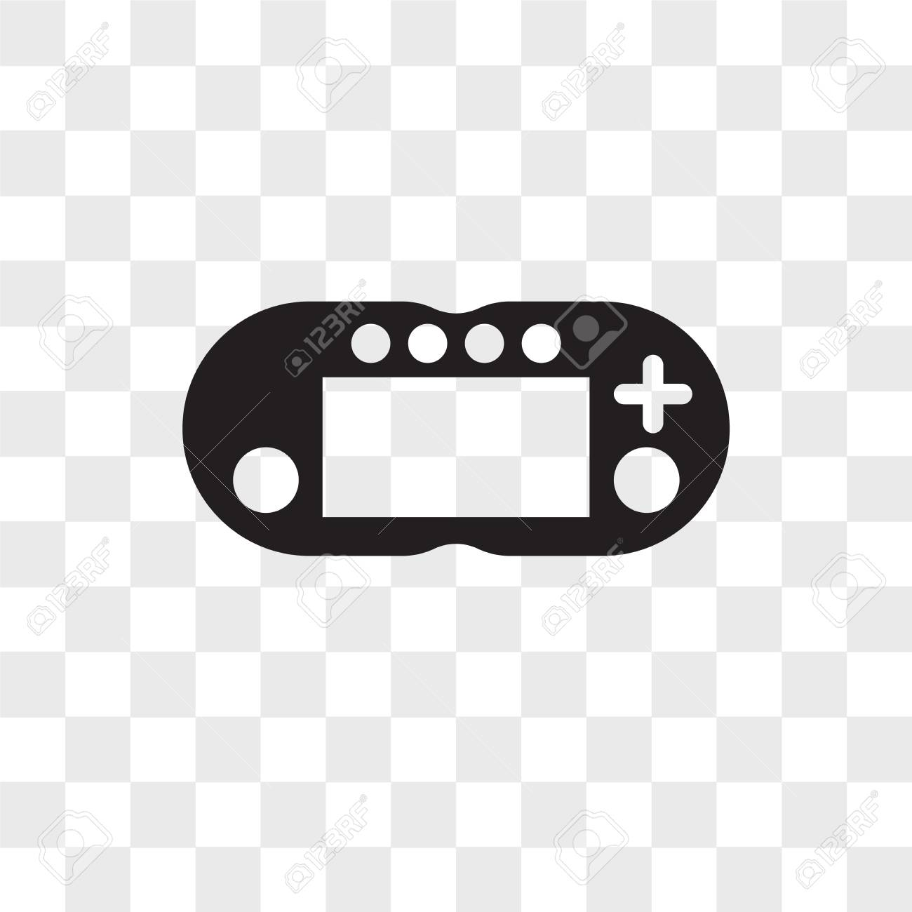 Video Games Vector Icon Isolated On Transparent Background Video Royalty Free Cliparts Vectors And Stock Illustration Image 108989710