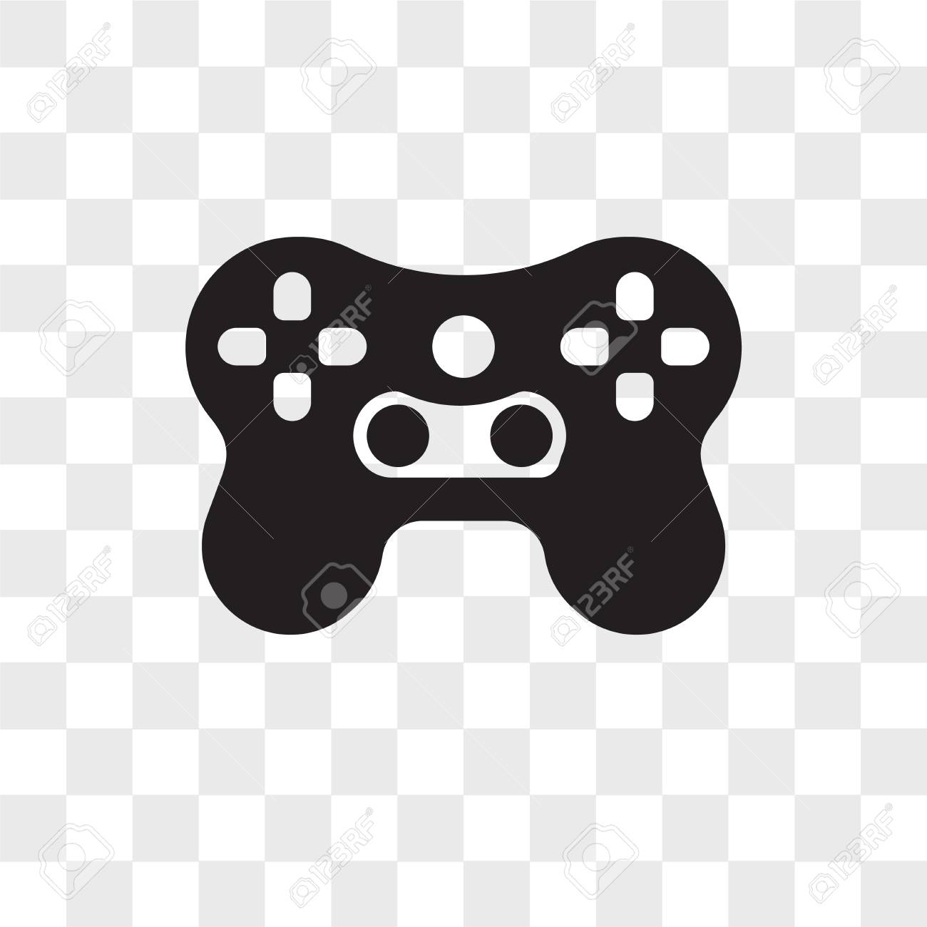 Video Games Vector Icon Isolated On Transparent Background Video Royalty Free Cliparts Vectors And Stock Illustration Image 109016282