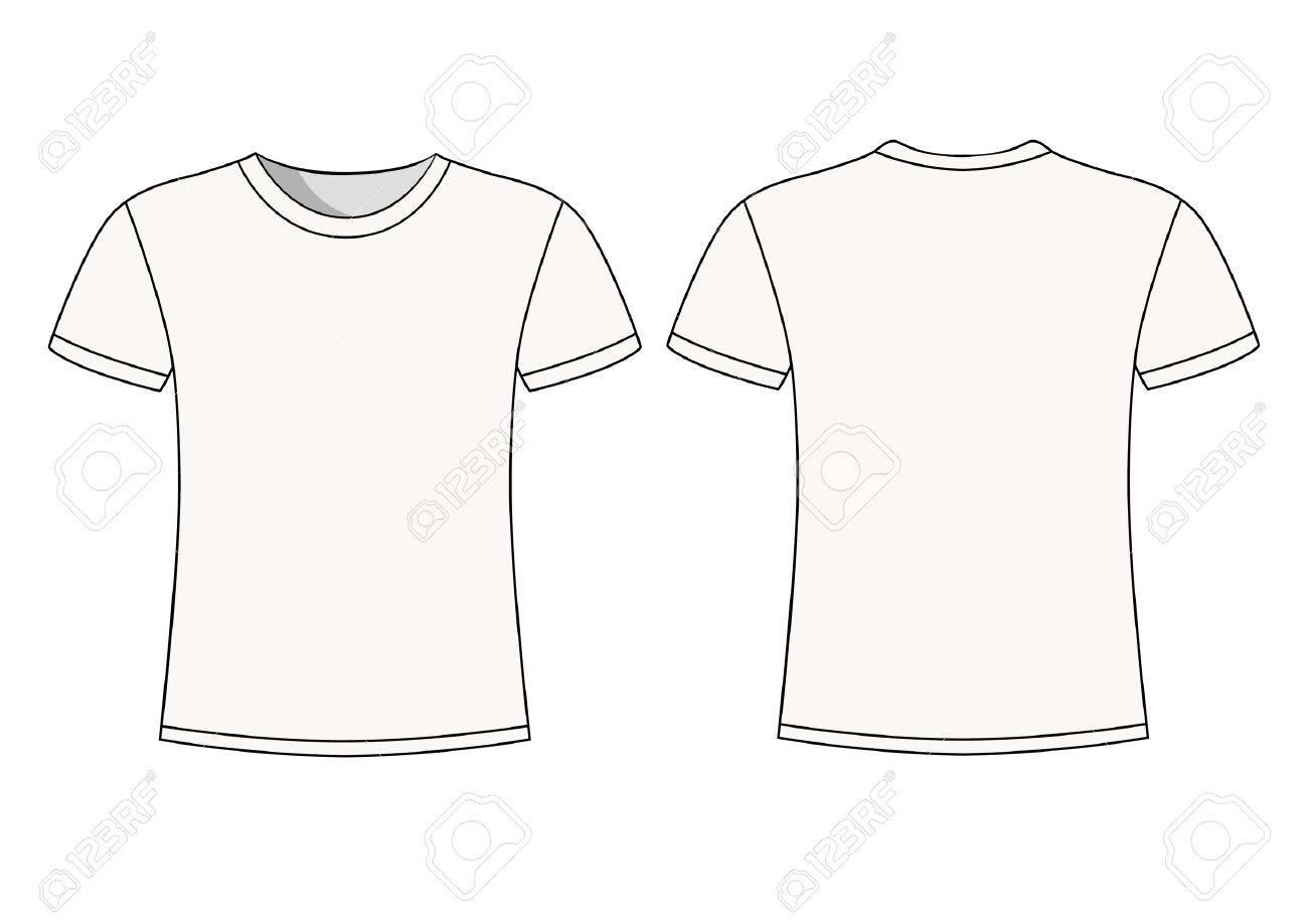 De Corta S Los Manga Hombres Blanca Diseño Camiseta Plantillas wBCSqCId