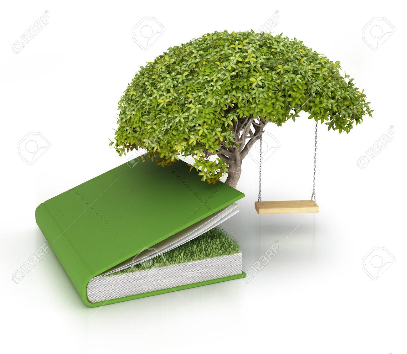 ac8d239518f03 Tree Of Knowledge Growing Out Of Book Stock Photo, Picture And ...