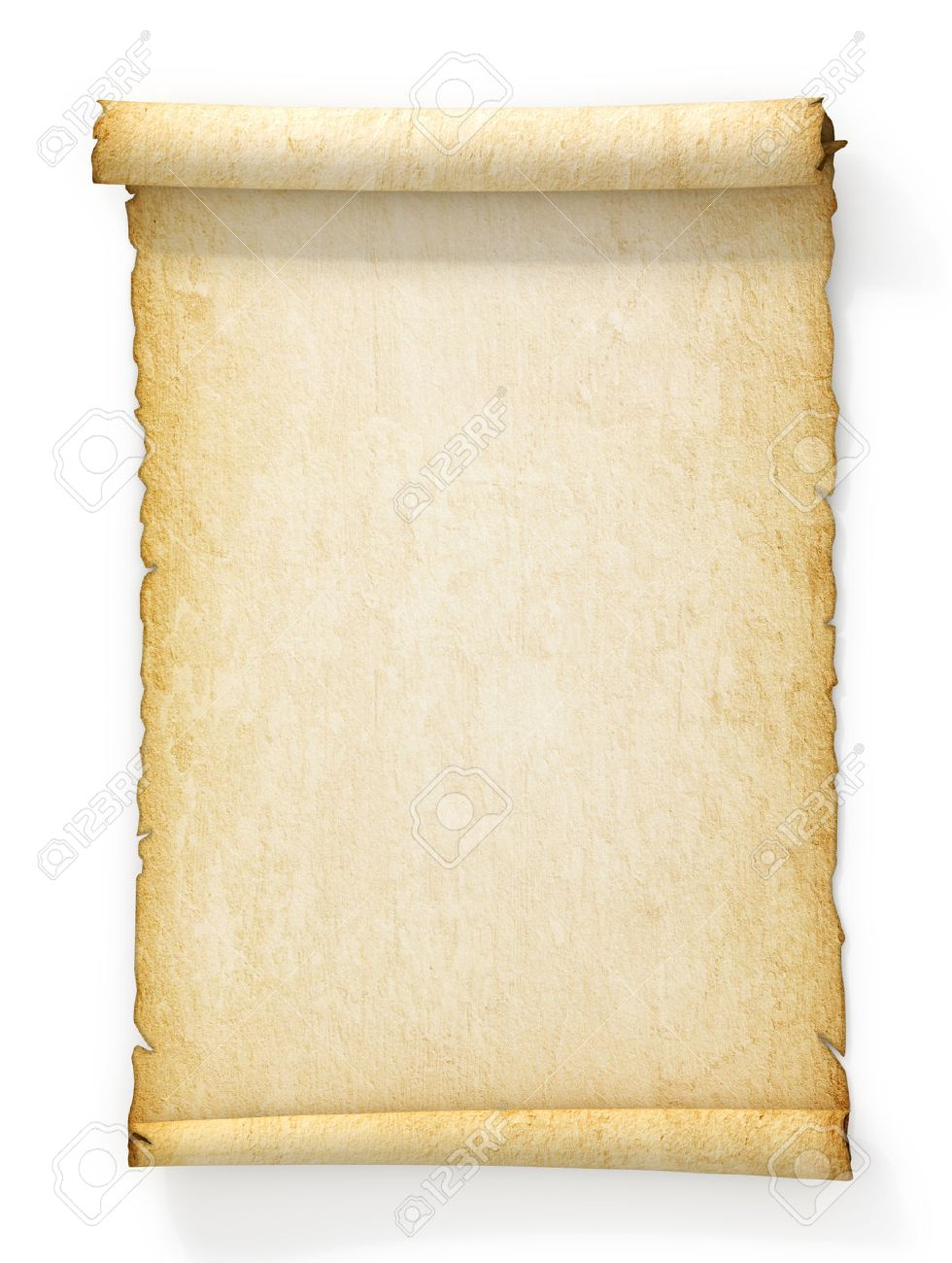 Old paper background for word sample leave request it coordinator ancient scroll template elioleracom 46729473 scroll of old yellowed paper on white background stock photo parchment toneelgroepblik Gallery