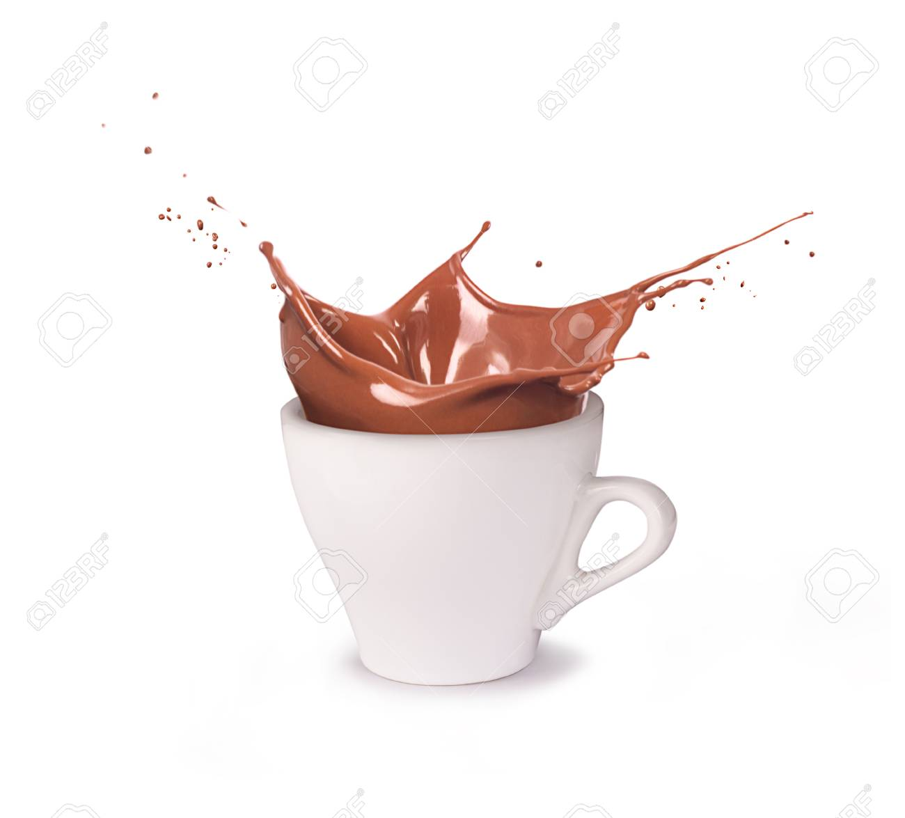 A cup of chocolate - 87756454