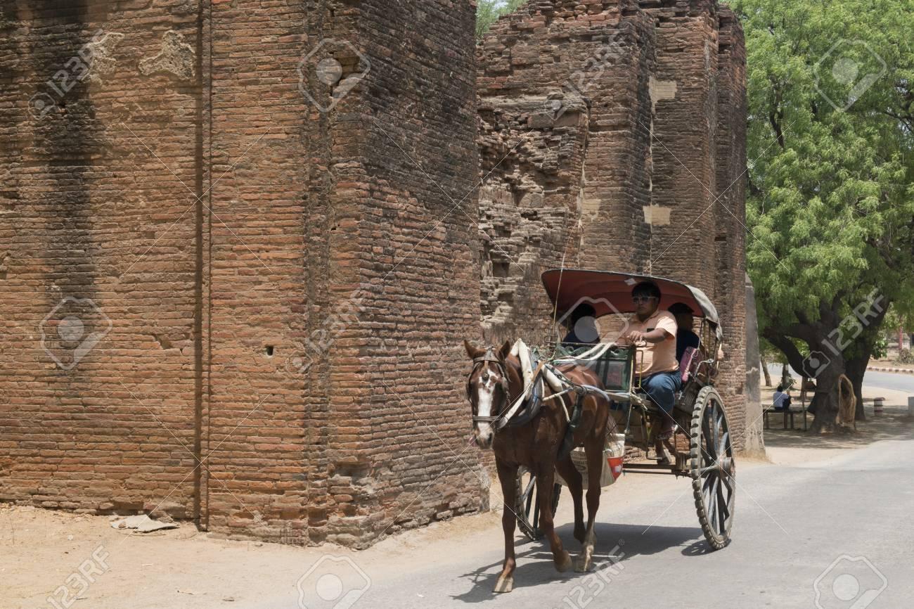 Image result for old bagan city walls images