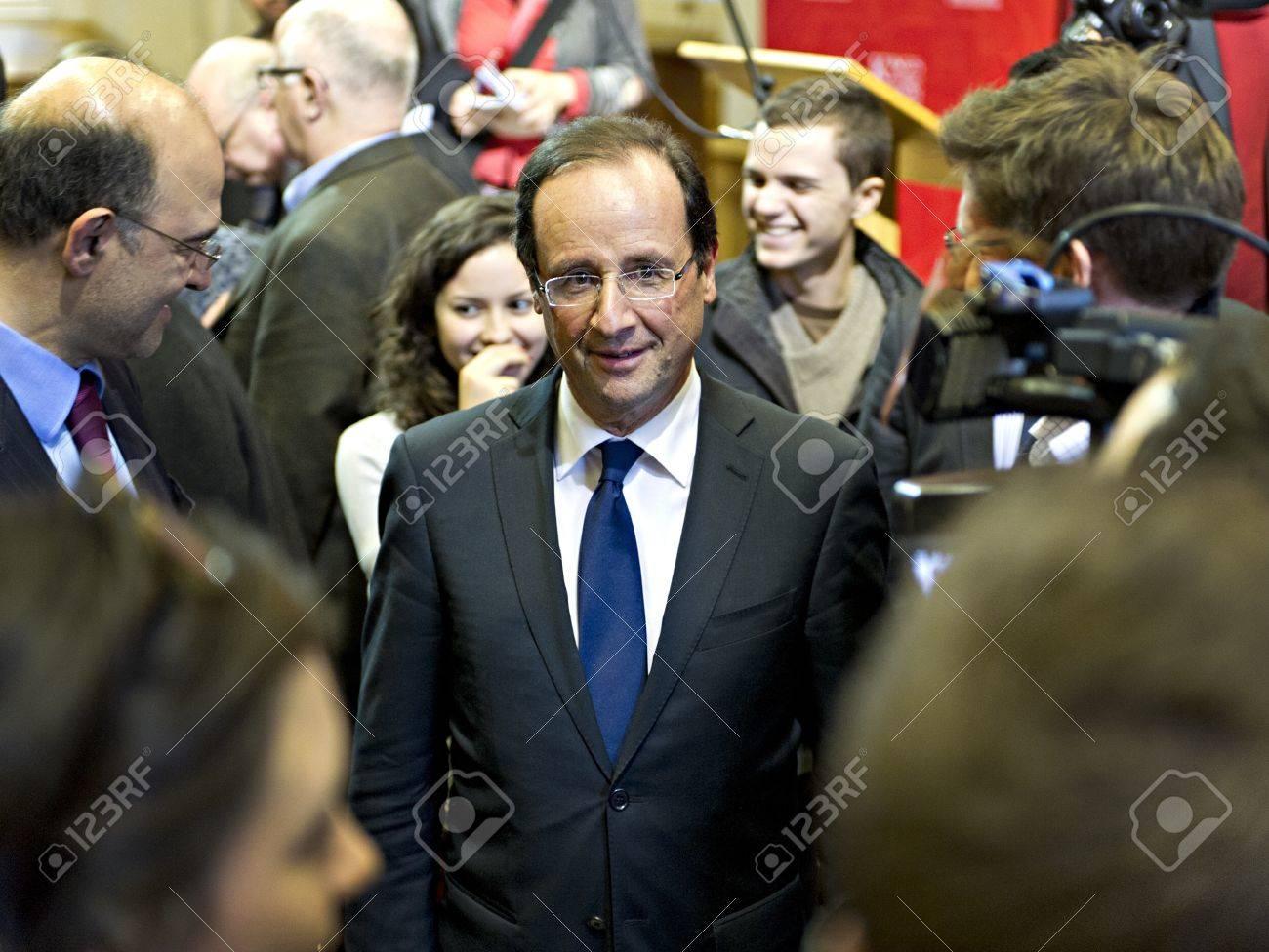 フランス社会党は大統領候補フラ...